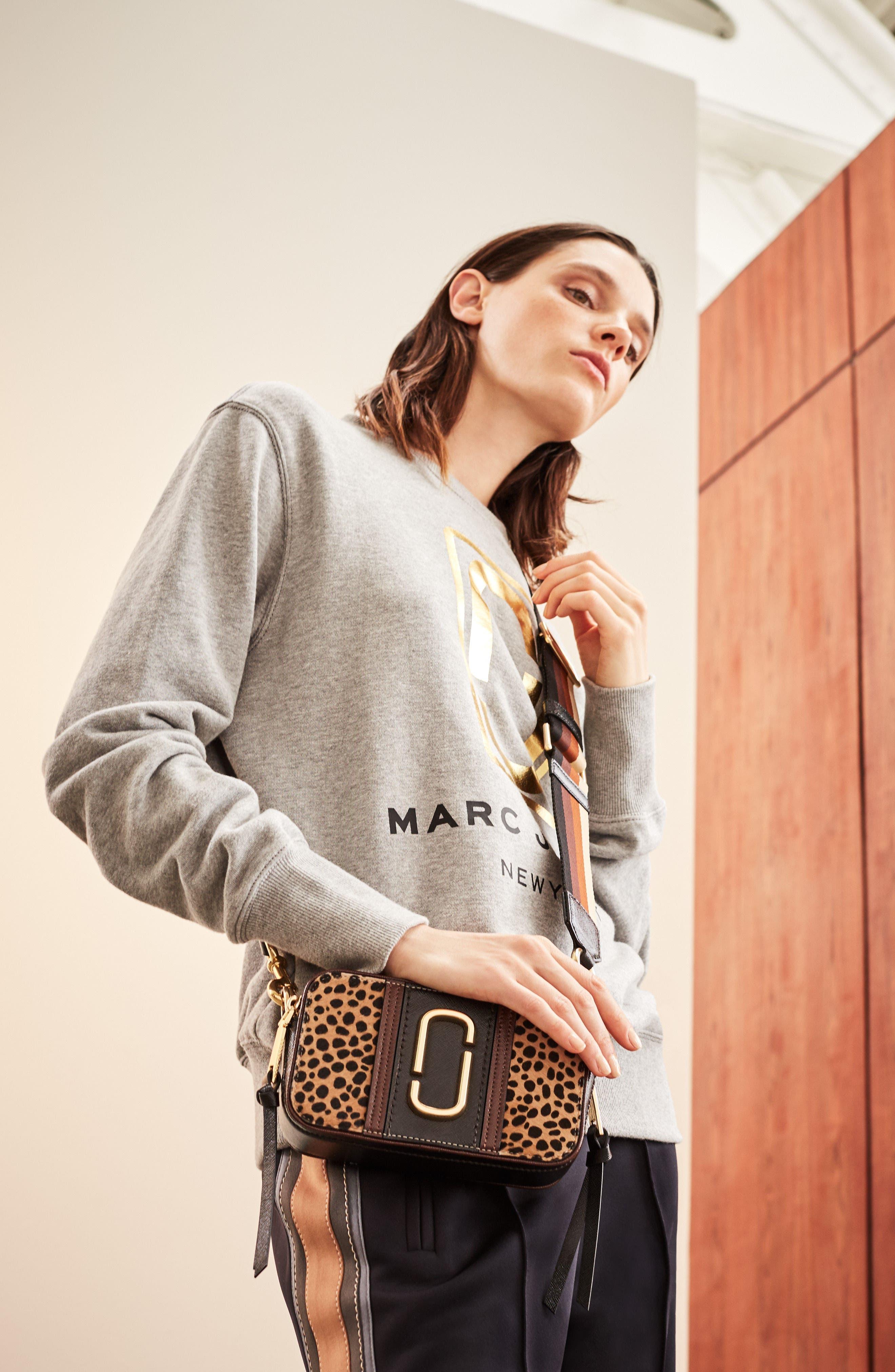 Alternate Image 6  - MARC JACOBS Snapshot Leopard Crossbody Bag