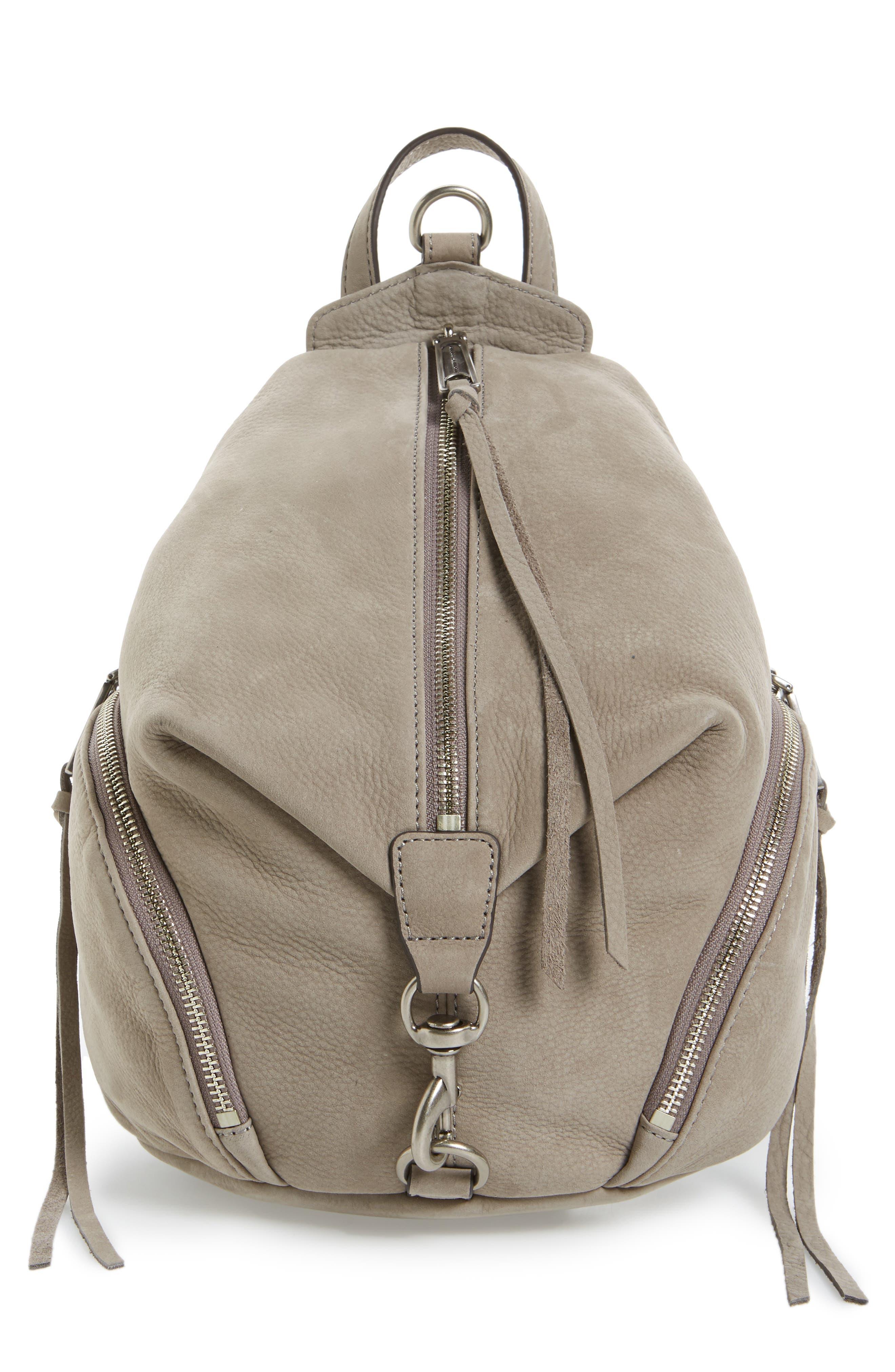 Medium Julian Backpack,                             Main thumbnail 1, color,                             Grey