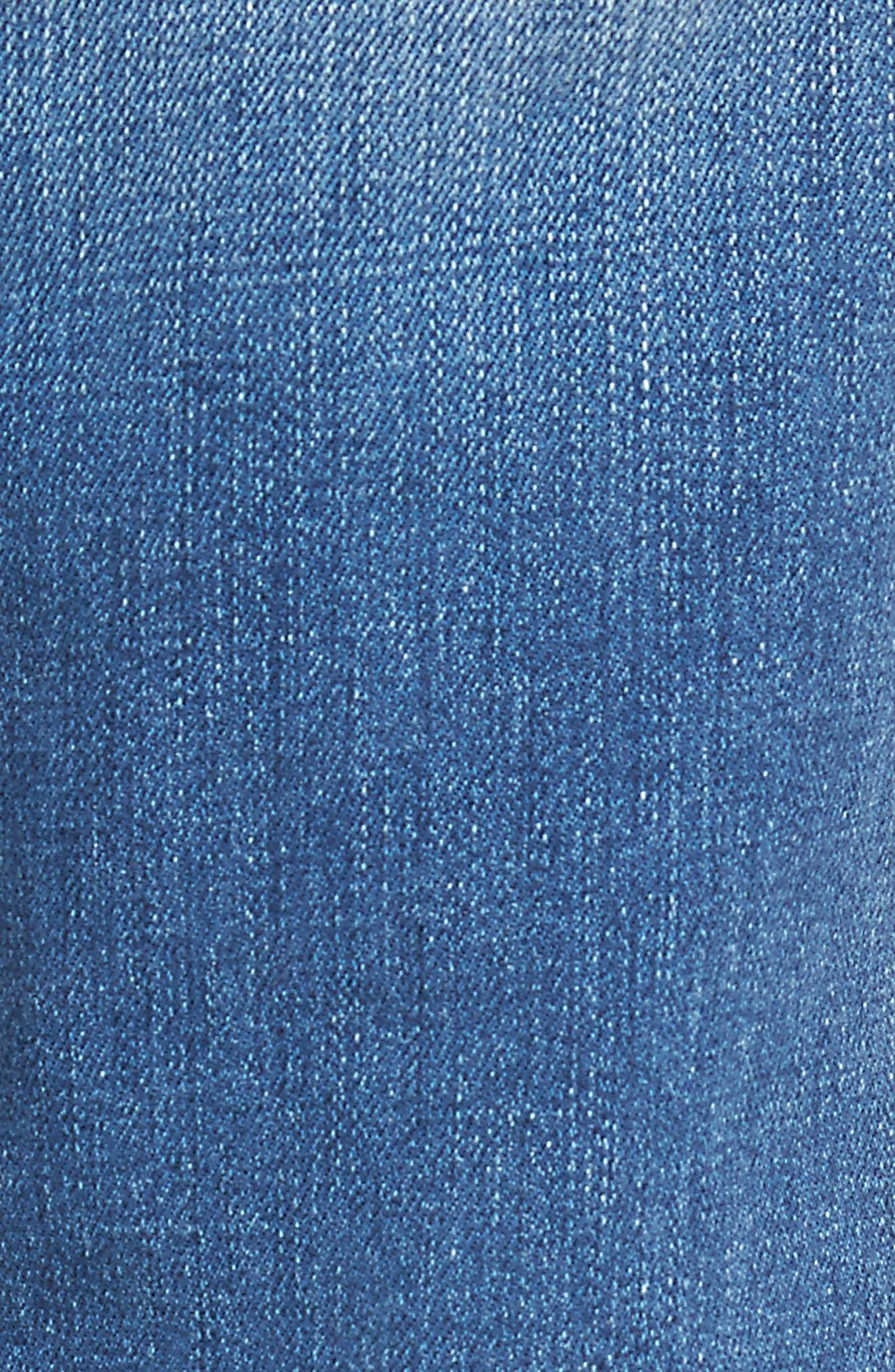 Alternate Image 5  - FRAME L'Homme Skinny Jeans (Frazier)