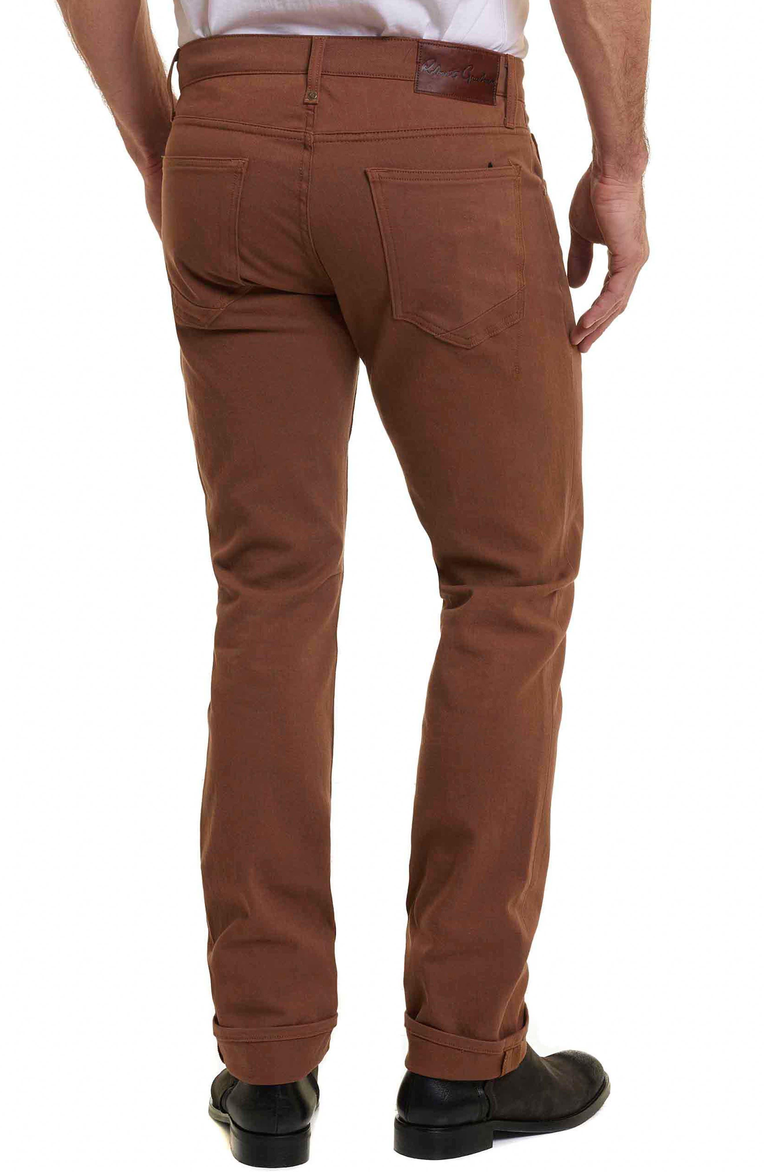 Corwin Classic Fit Jeans,                             Alternate thumbnail 2, color,                             Copper