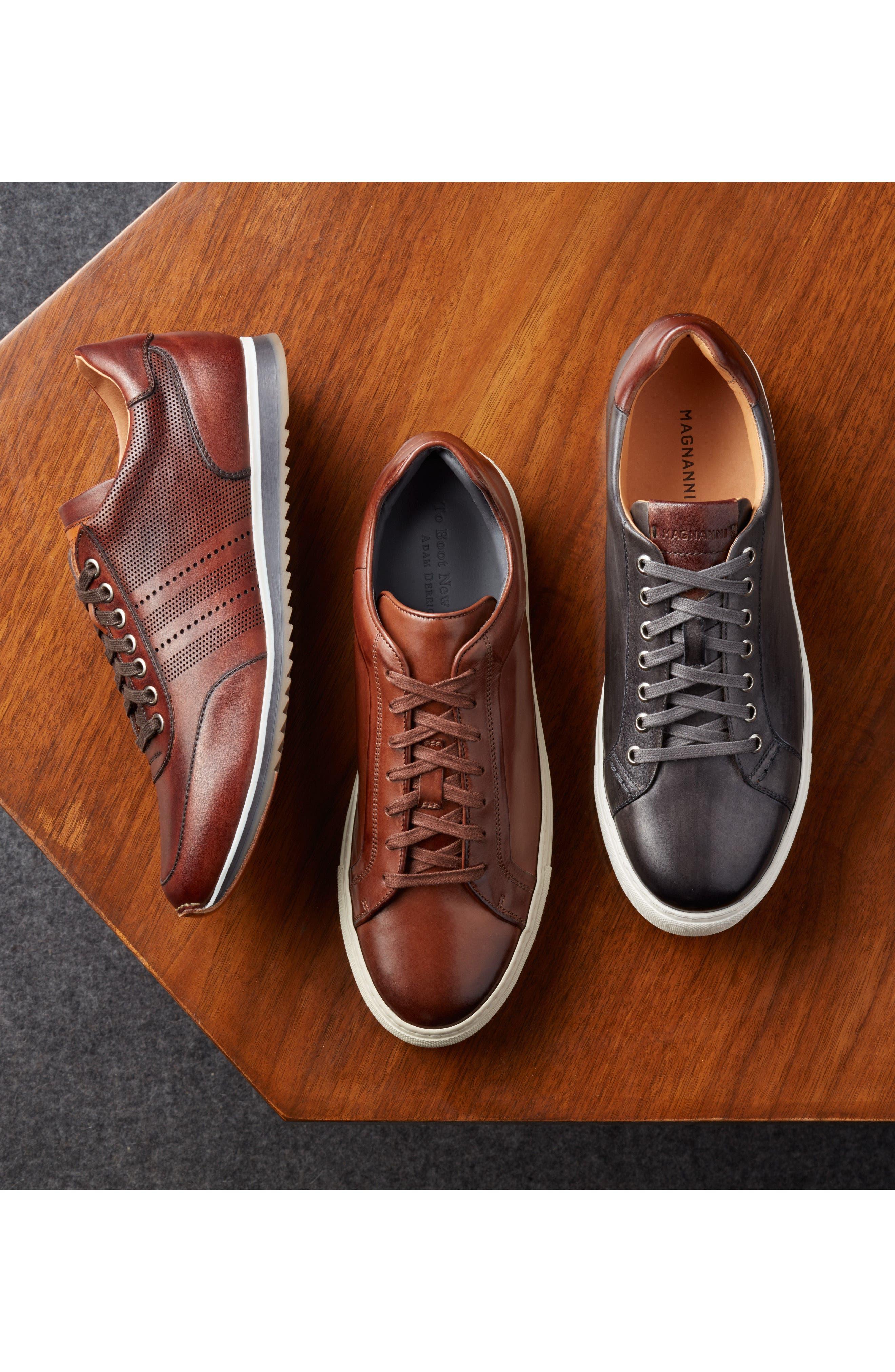 Alternate Image 7  - Magnanni Falco Lo Sneaker (Men)