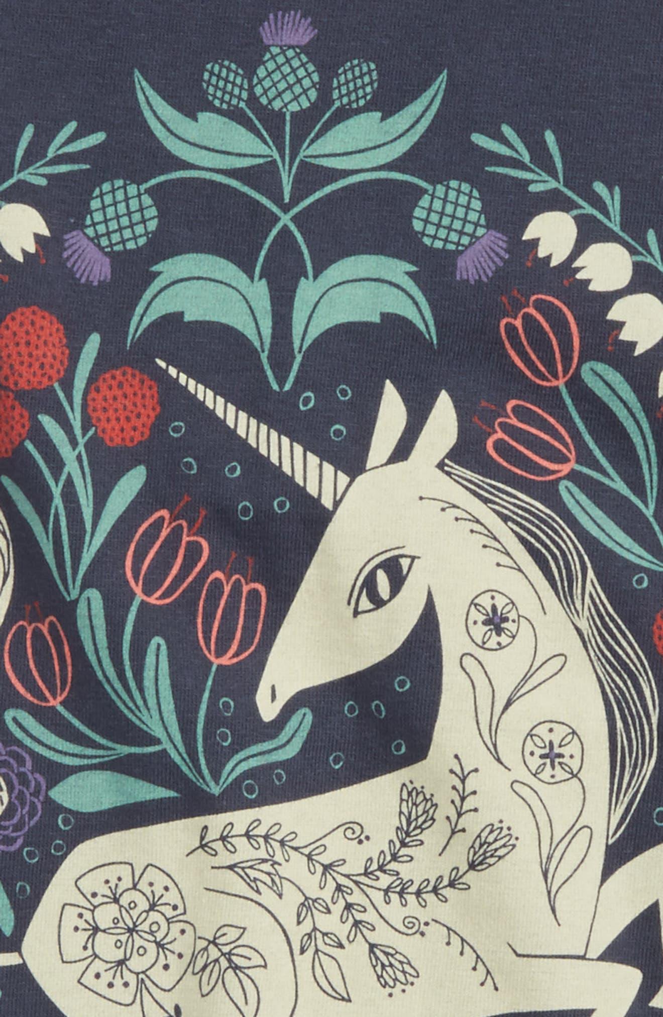 Alternate Image 2  - Tea Collection Unicorn Graphic Top (Toddler Girls, Little Girls & Big Girls)