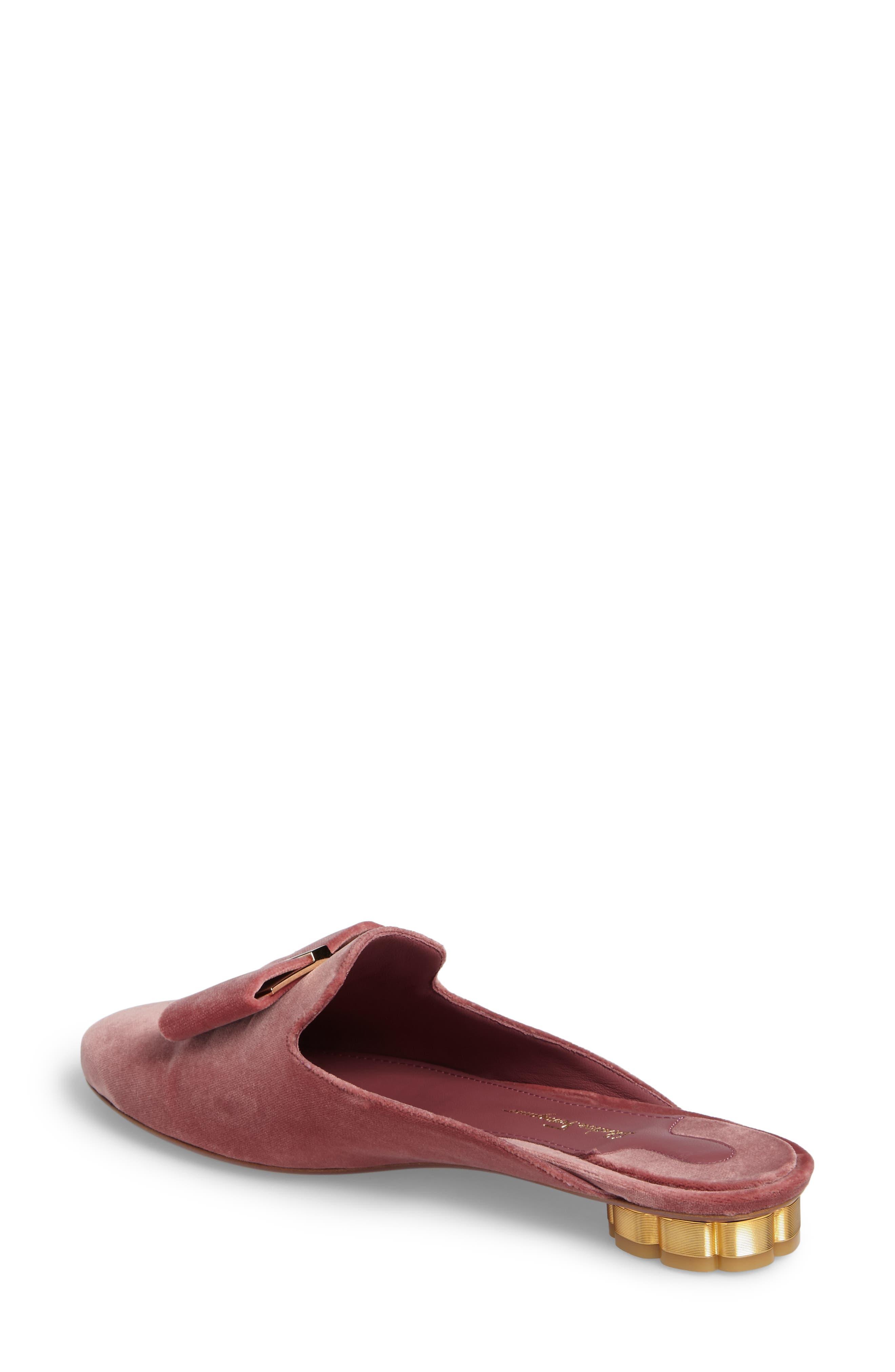 Backless Loafer Mule,                             Alternate thumbnail 2, color,                             New Griotte Velvet