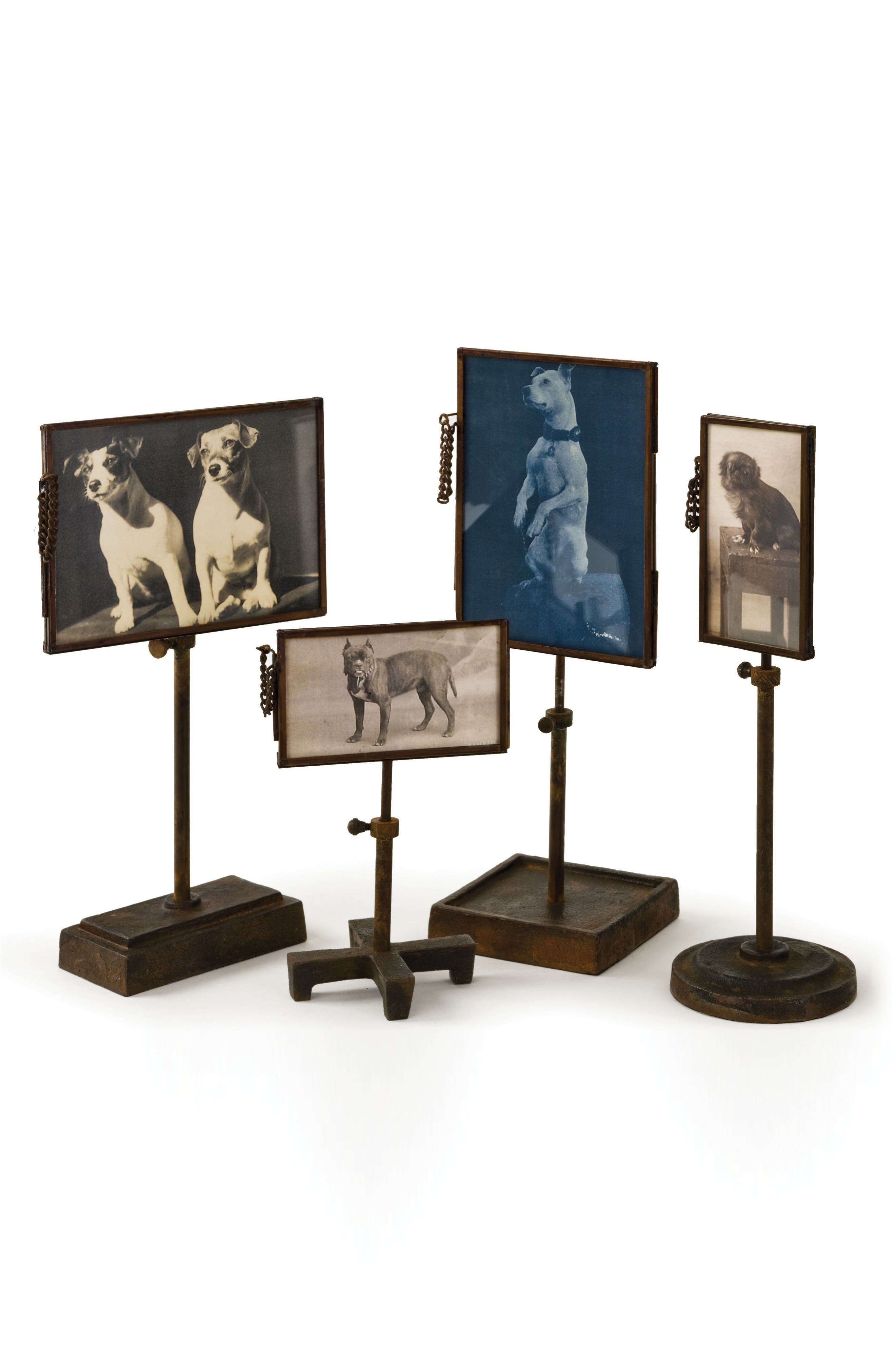Set of 4 Photo Holders,                         Main,                         color, Natural