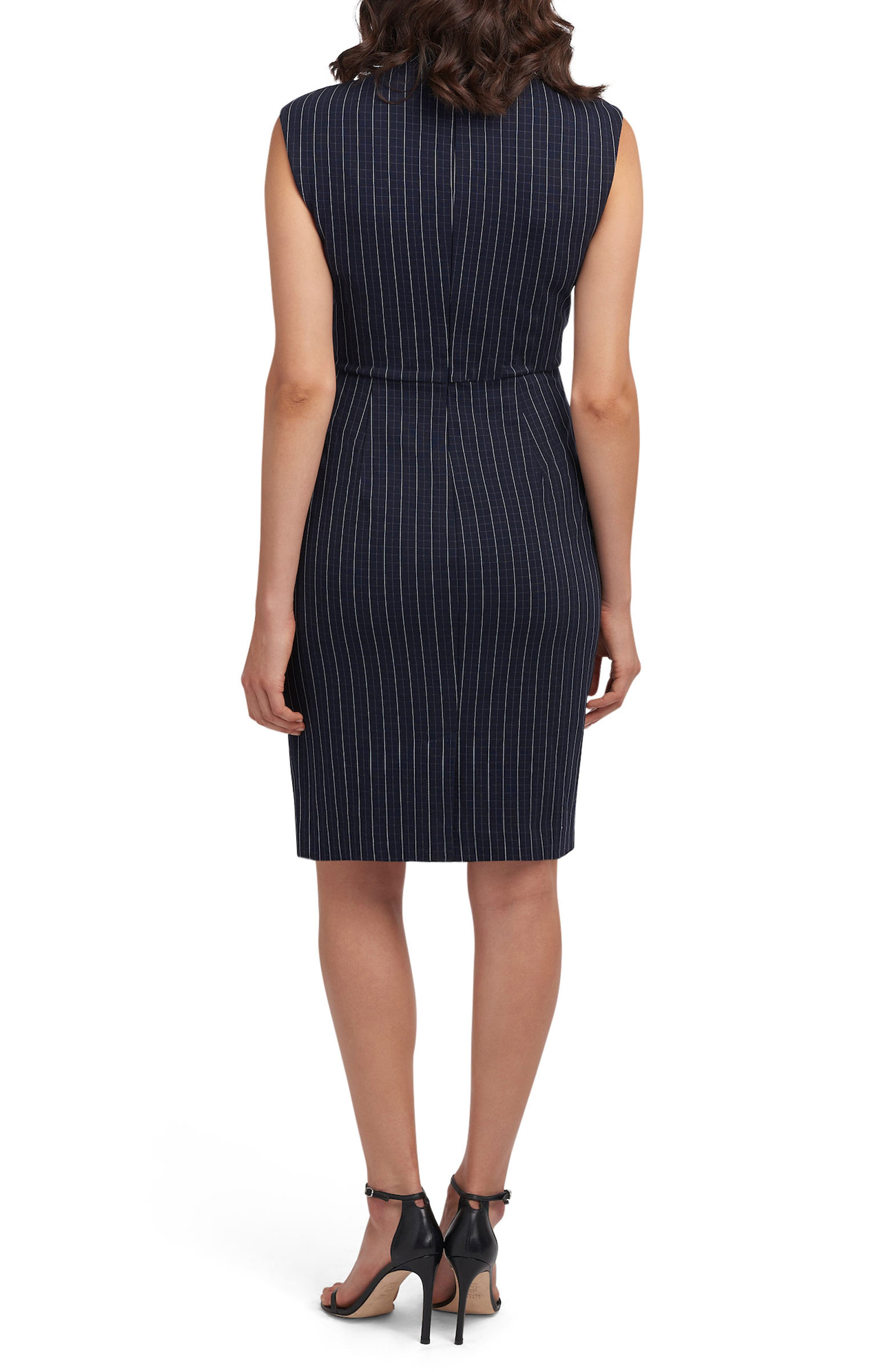 Alternate Image 2  - ECI Choker Sheath Dress