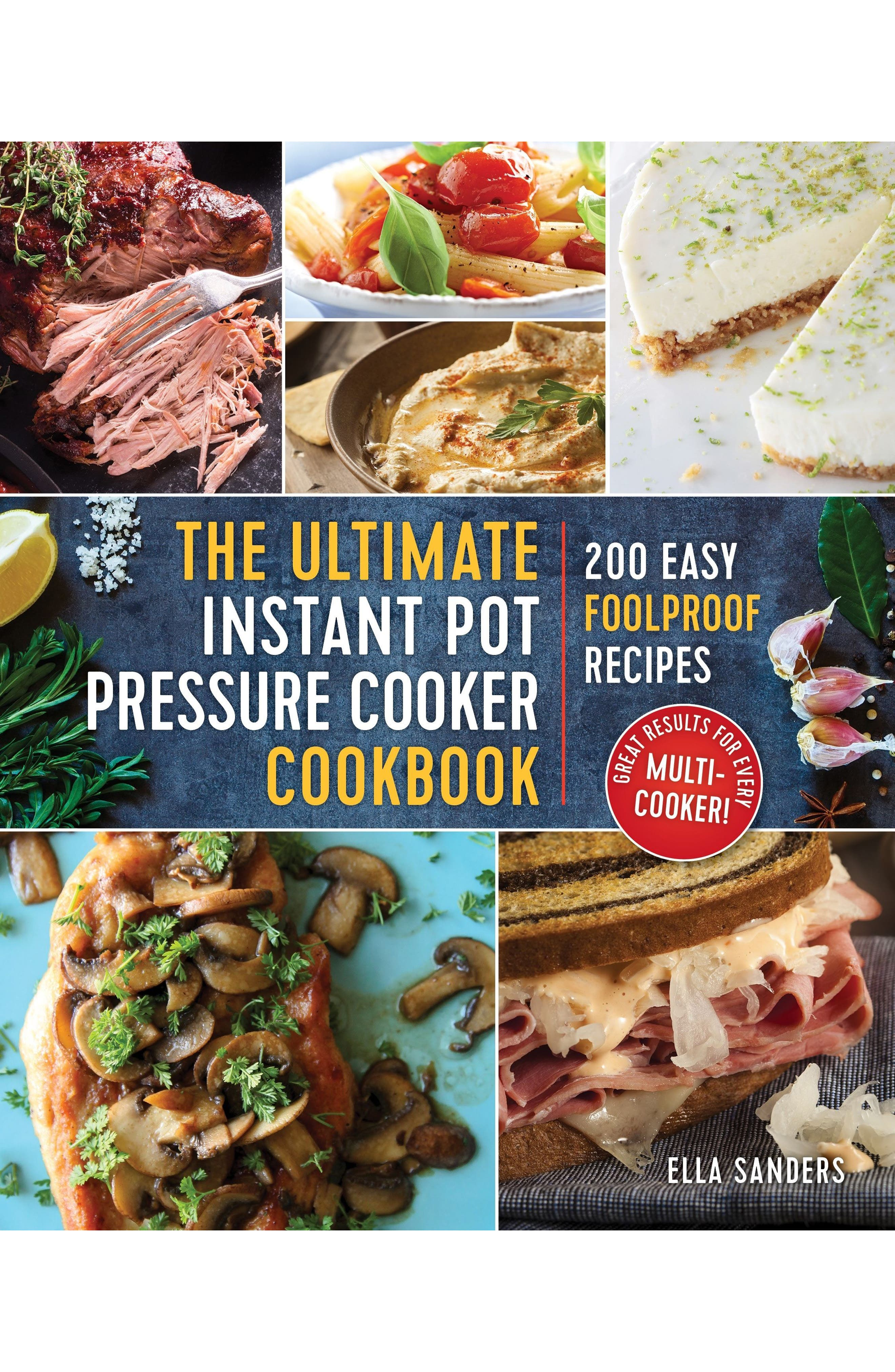 The Ultimate Instant Pot Pressure Cooker Cookbook,                             Main thumbnail 1, color,                             Blue