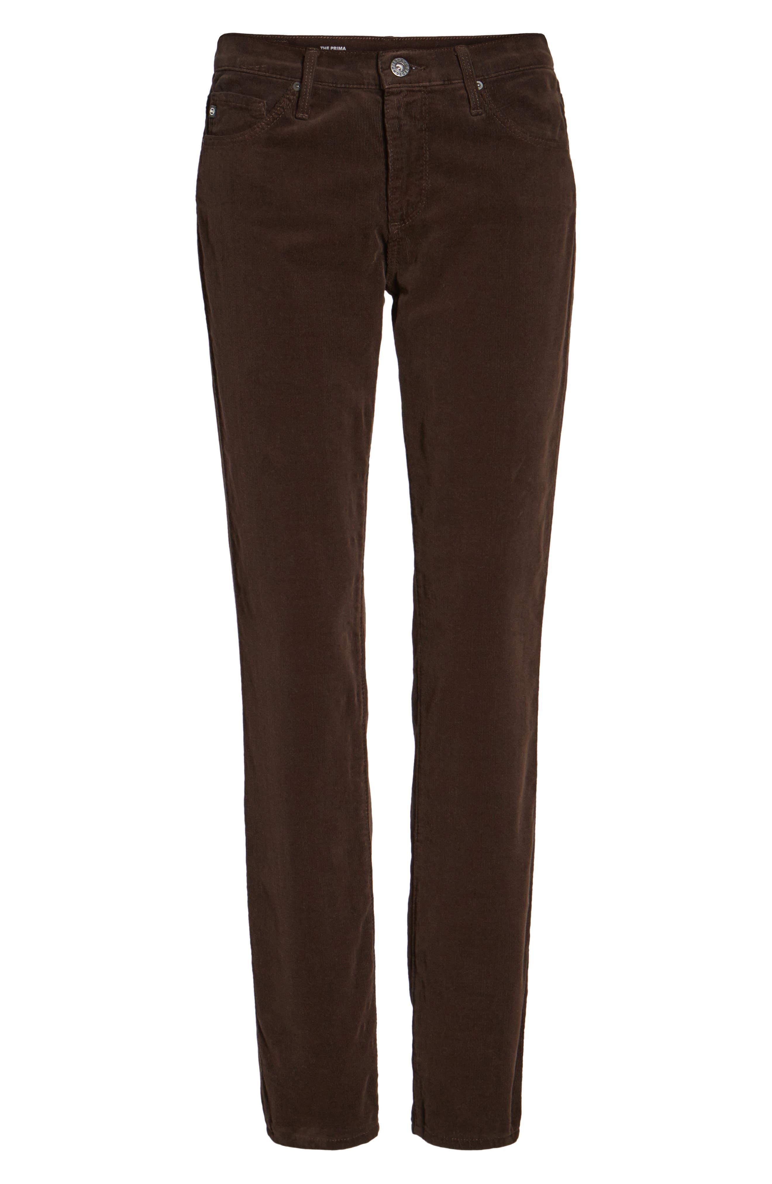 Alternate Image 6  - AG 'Prima' Corduroy Skinny Pants