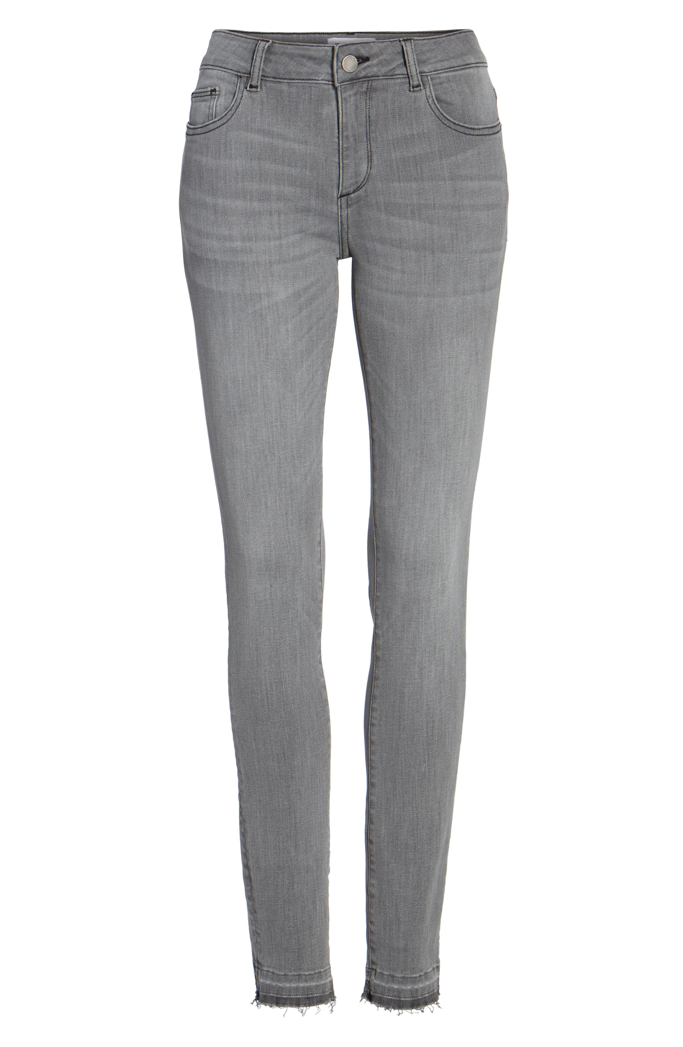 Alternate Image 6  - DL1961 Florence Skinny Jeans (Chadwick)