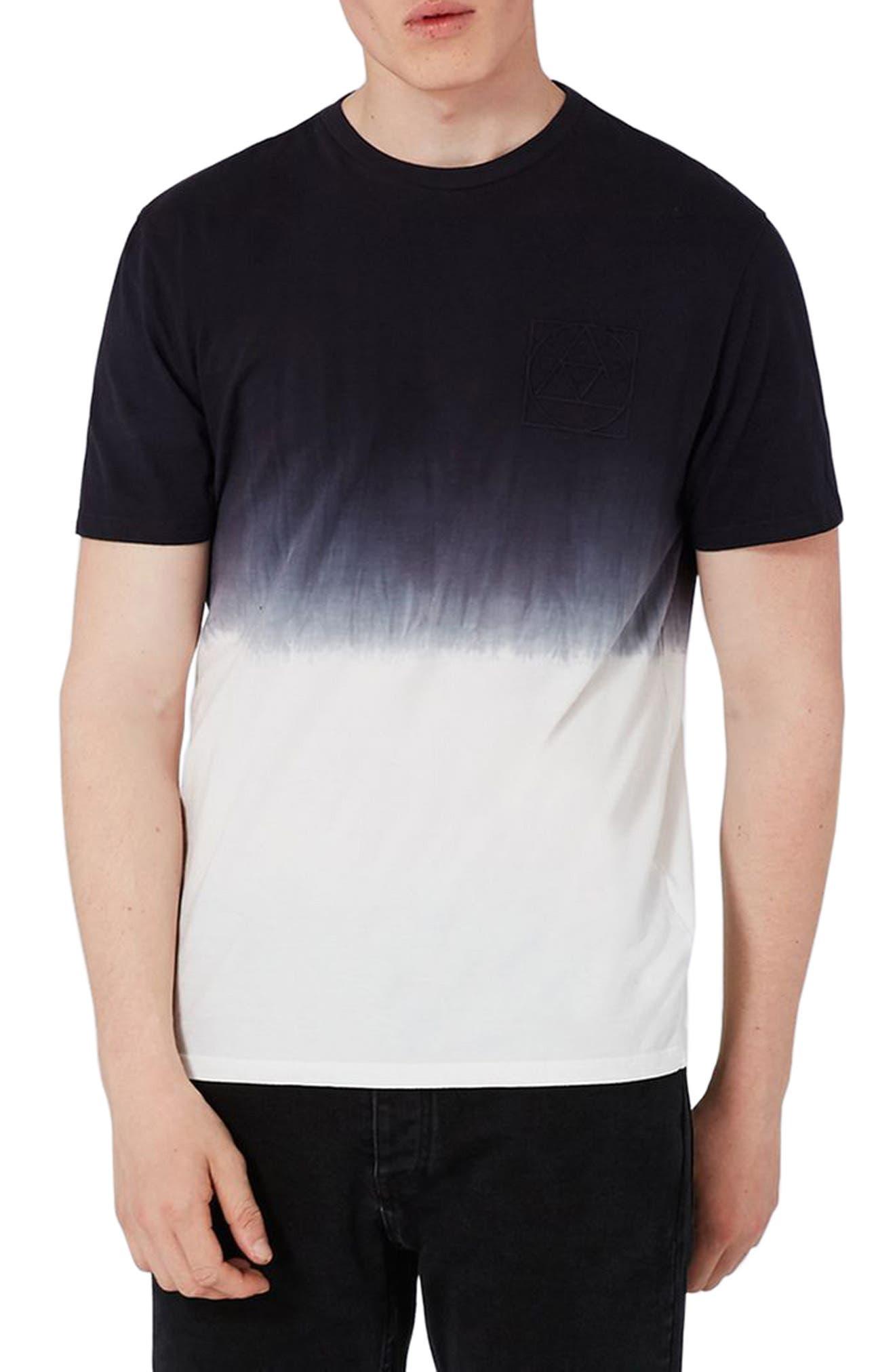 Topman Fade Ombré T-Shirt