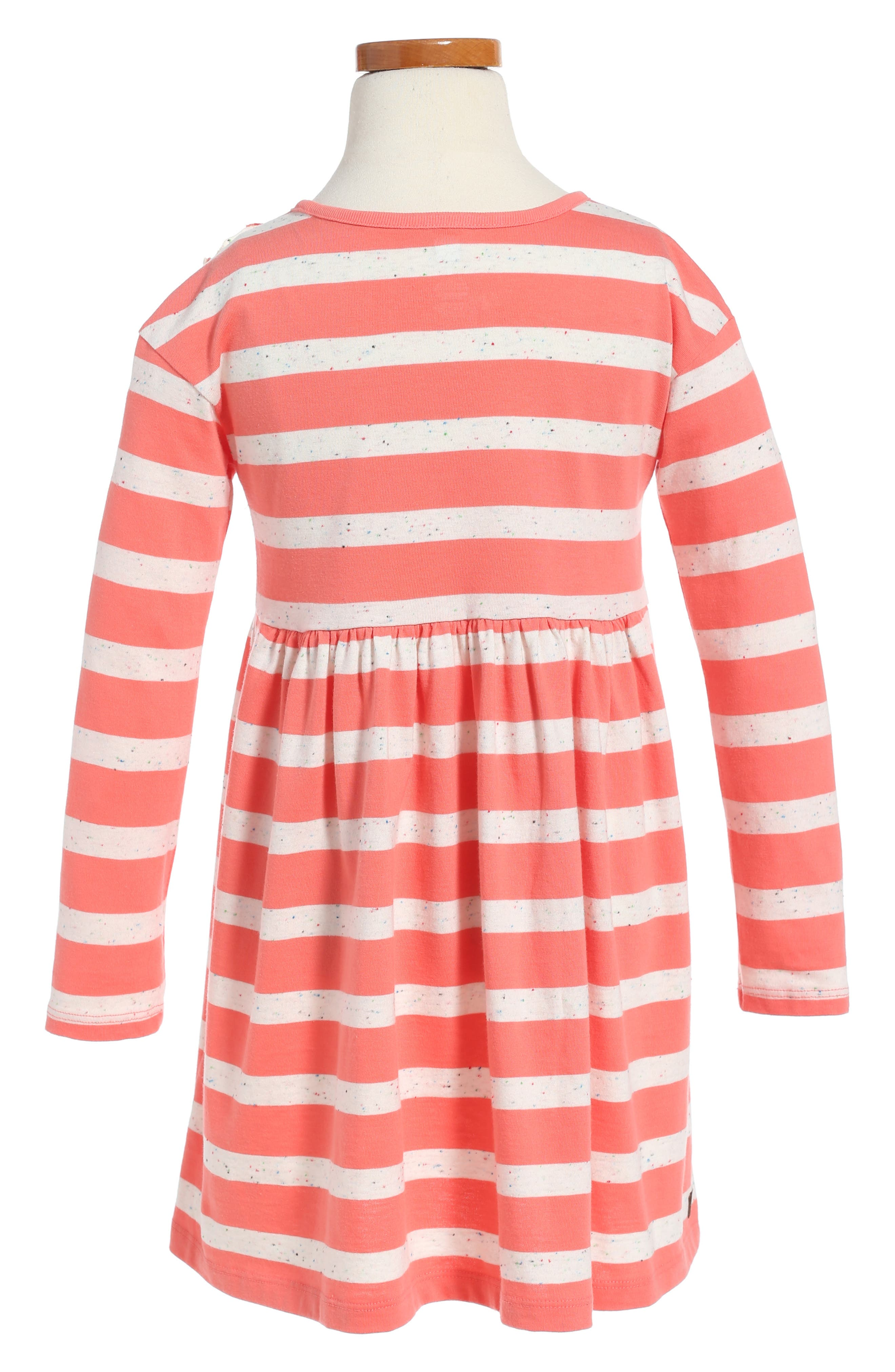 Saorsa Appliqué Dress,                             Alternate thumbnail 2, color,                             Orange Buoy