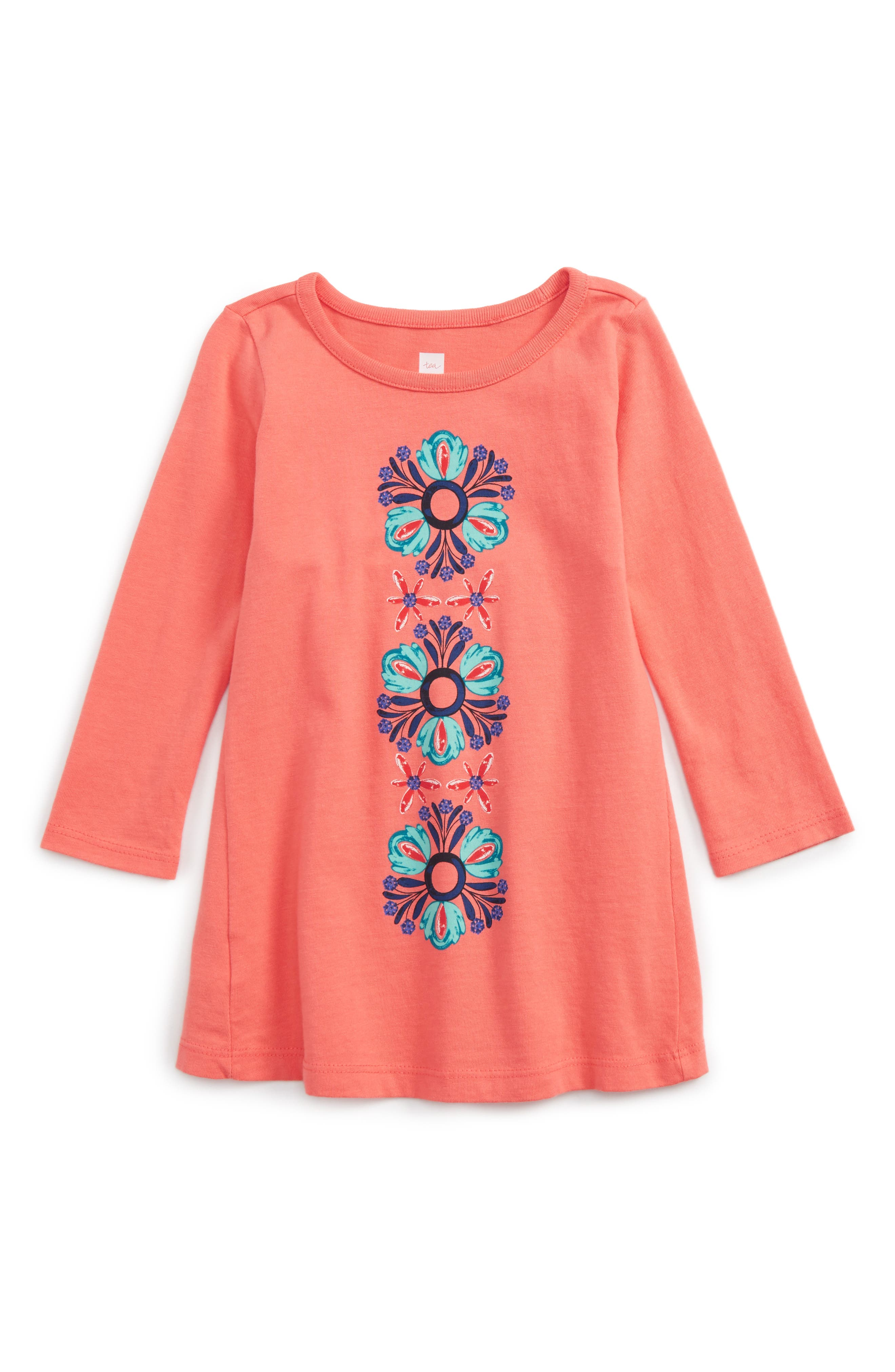 Tea Collection Kyla Graphic Dress (Baby Girls)
