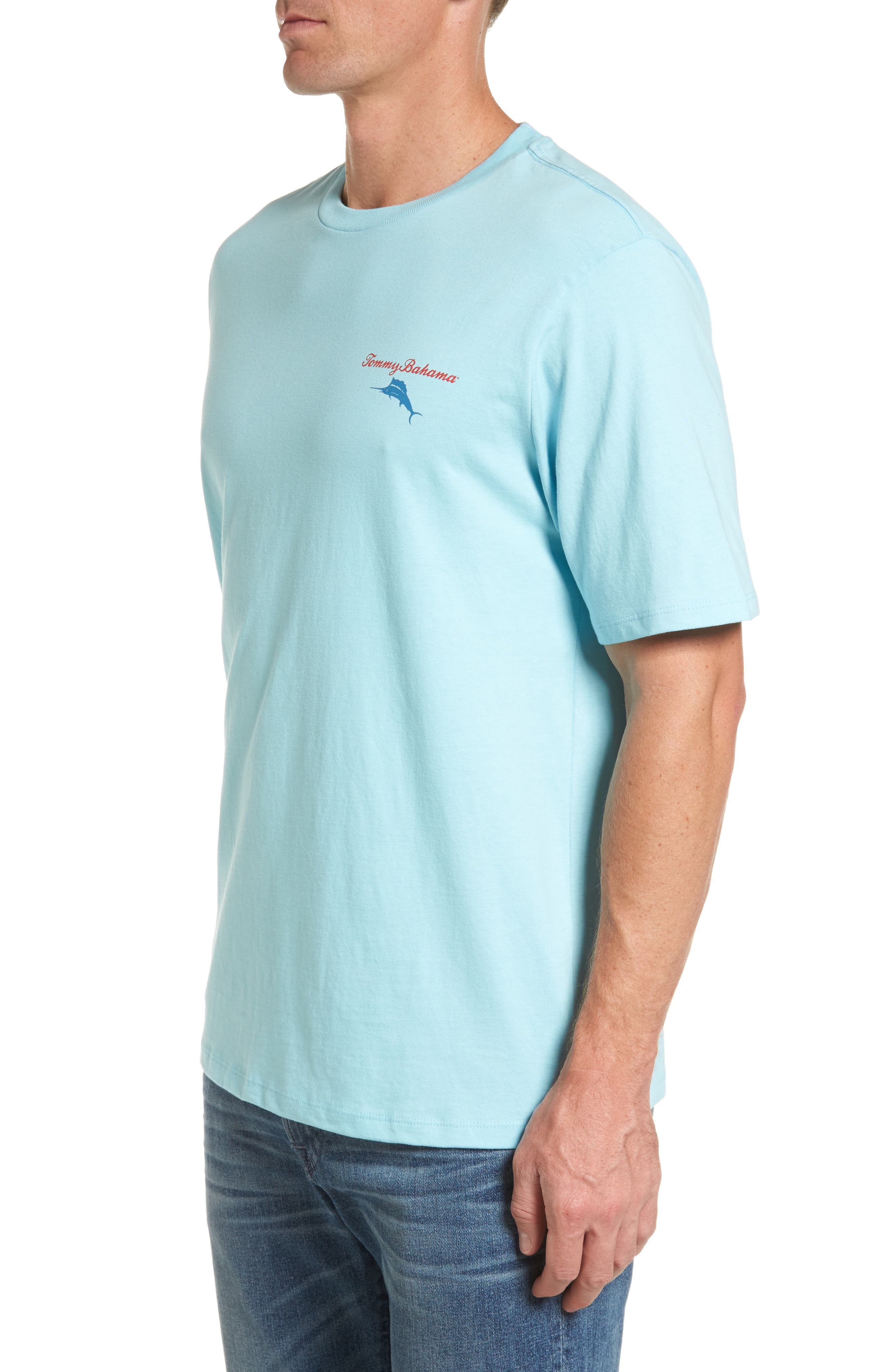 Mr. Ice Guy Graphic T-Shirt,                             Alternate thumbnail 4, color,                             Graceful Sea