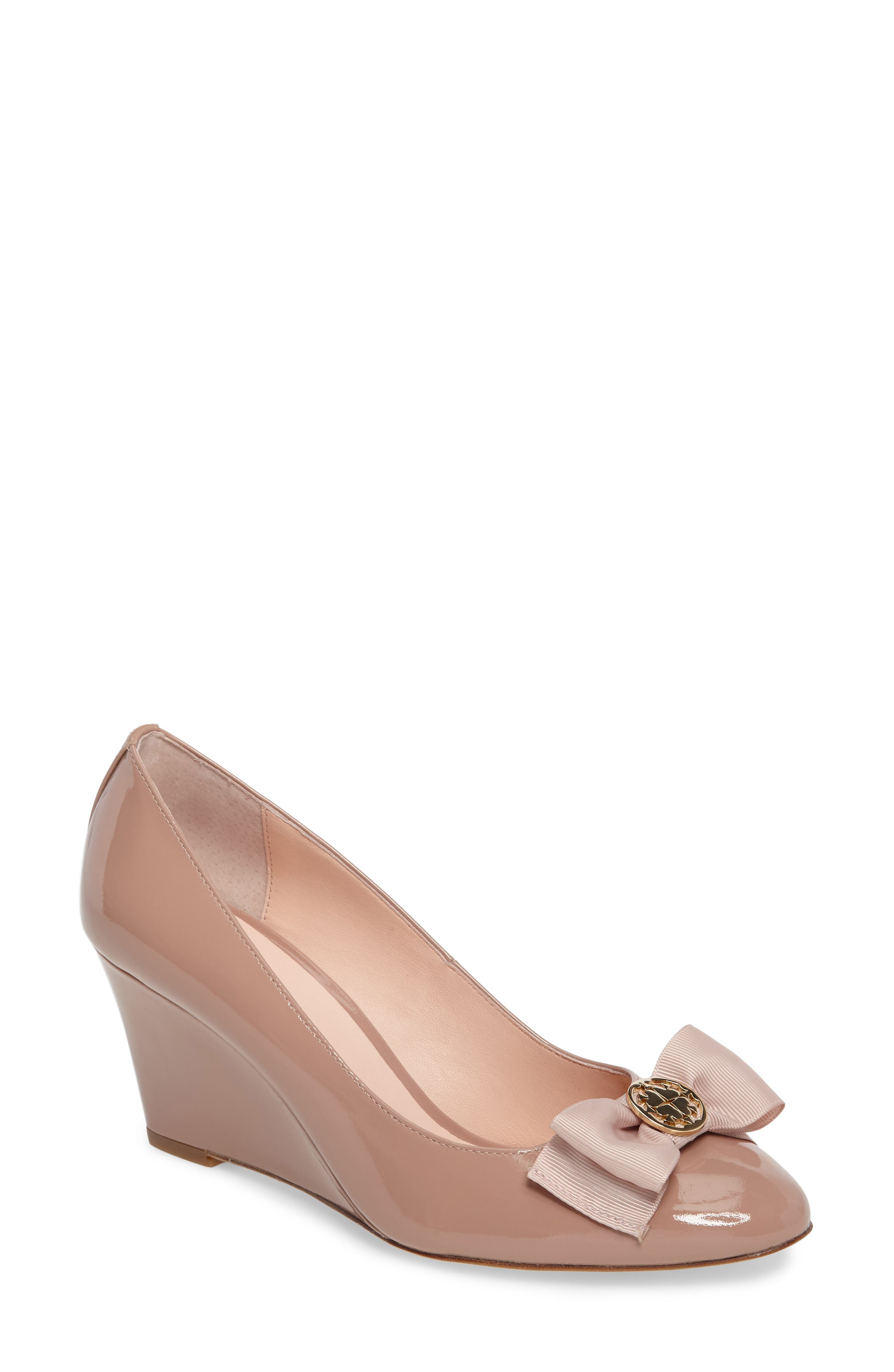 Alternate Image 1 Selected - kate spade new york wescott wedge pump (Women)