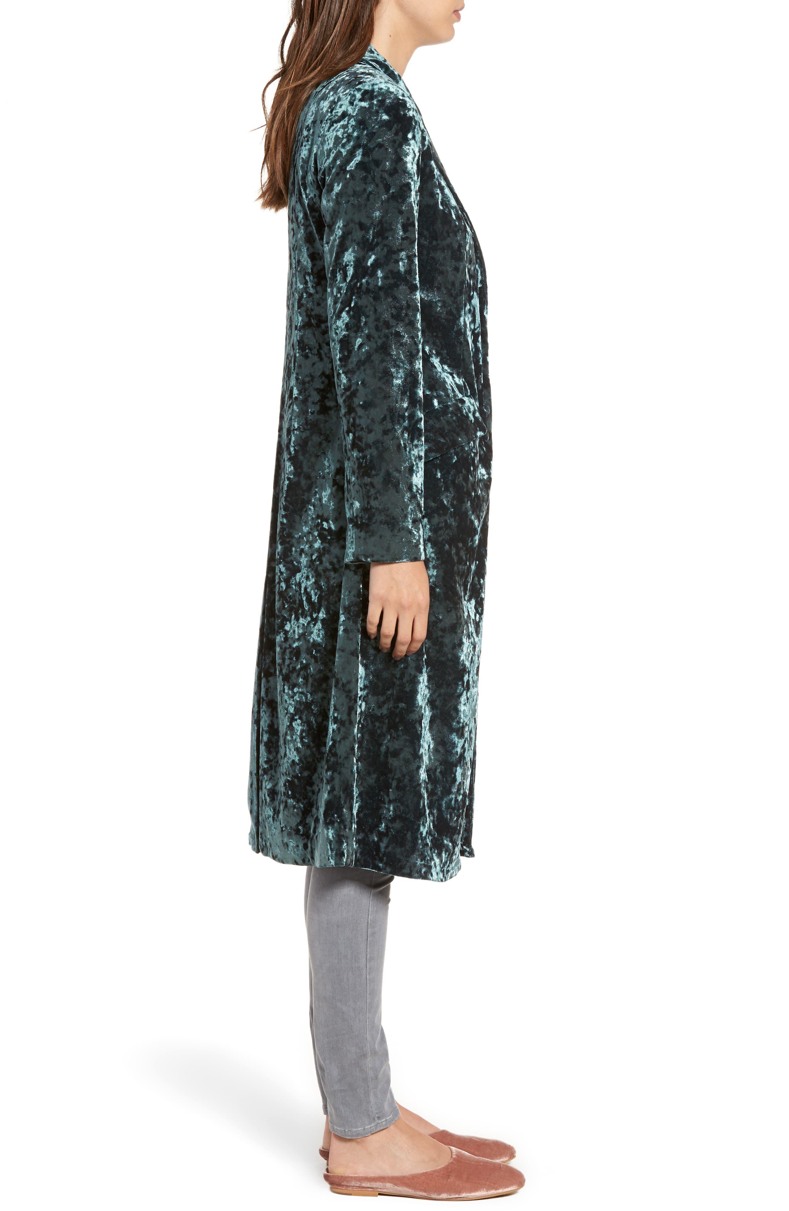 Alternate Image 3  - Leith Long Velour Jacket