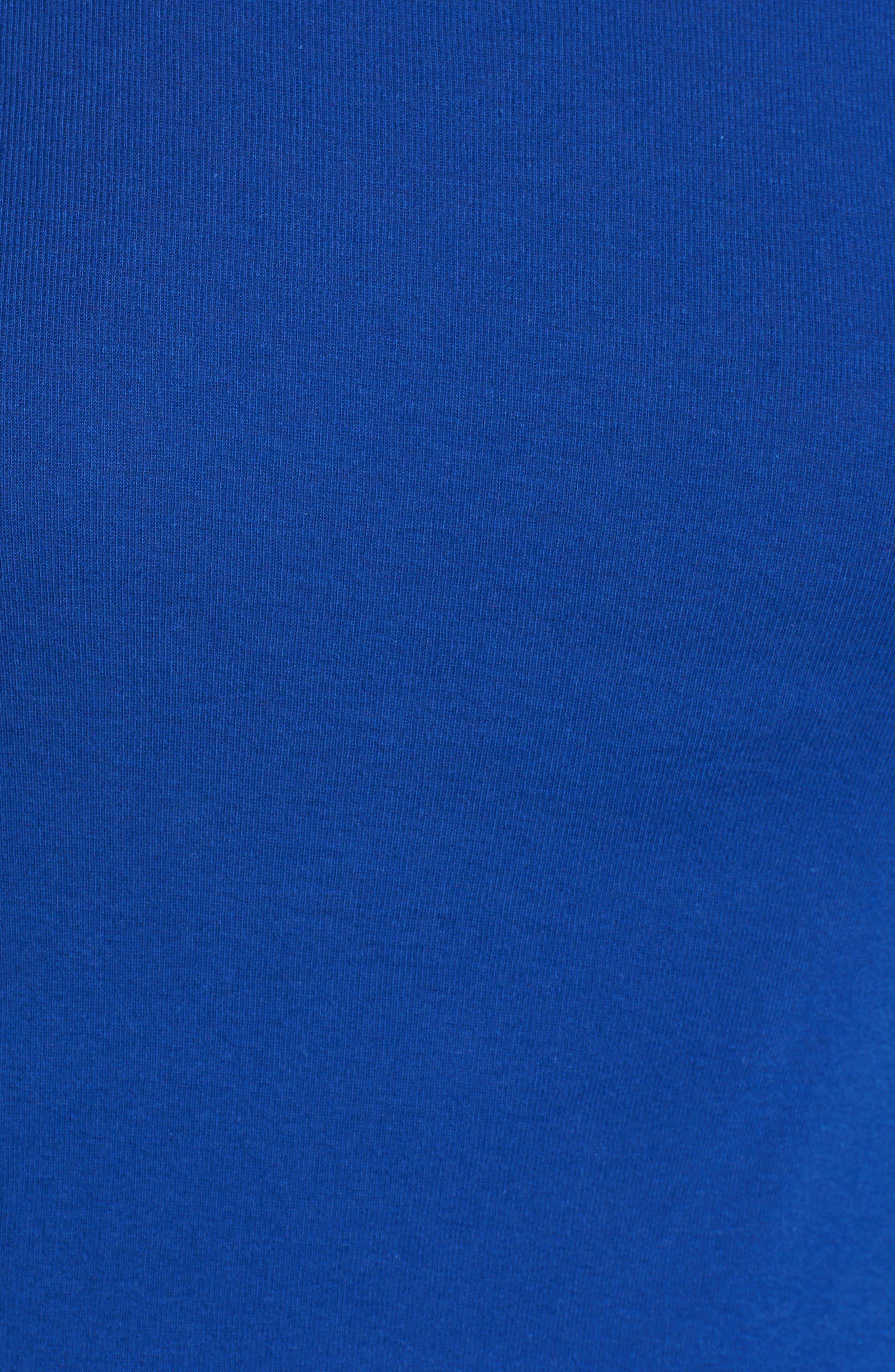 Alternate Image 5  - Caslon® Long Sleeve Scoop Neck Cotton Tee (Regular & Petite)