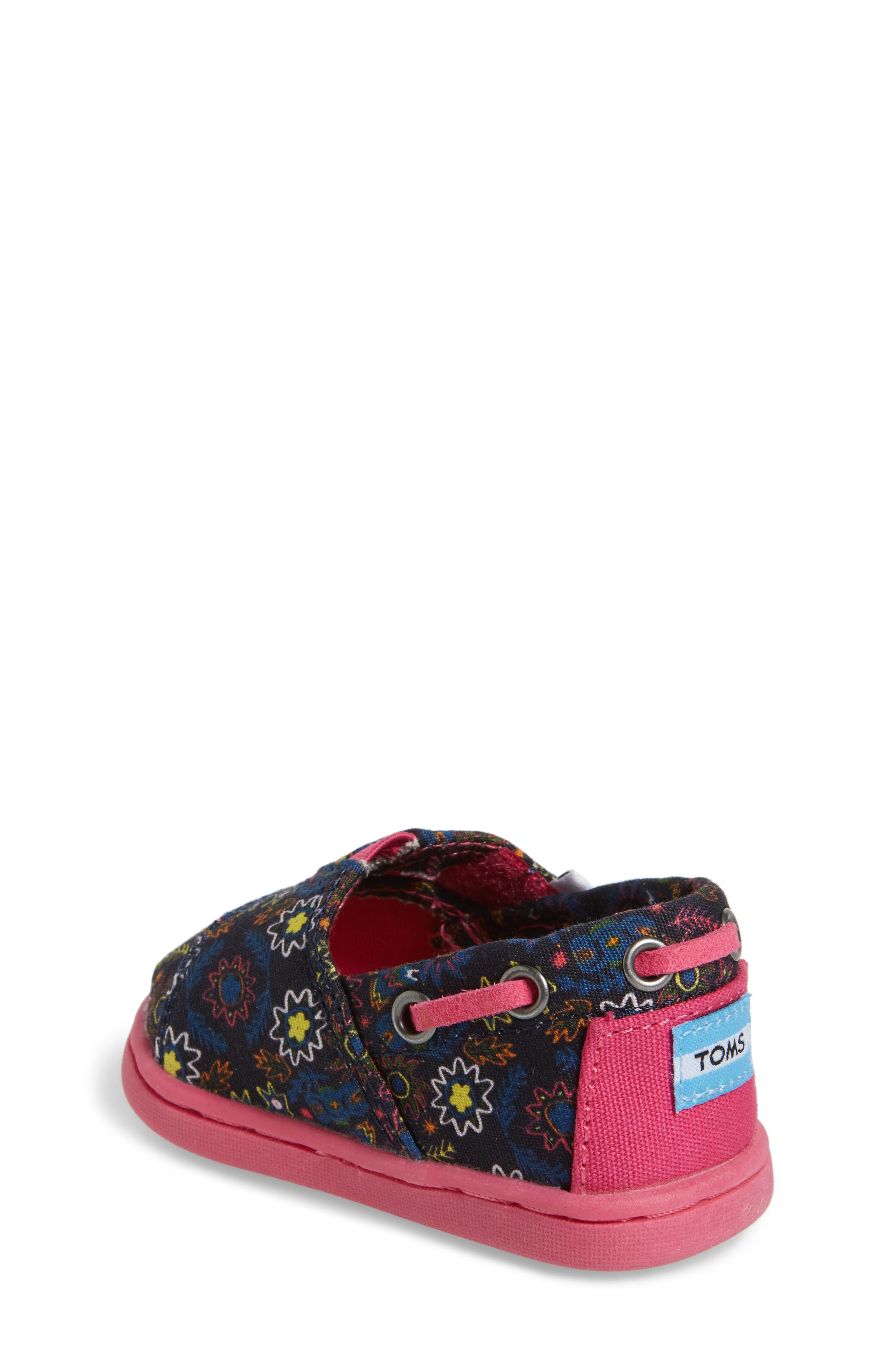 Bimini Print Slip-On,                             Alternate thumbnail 2, color,                             Navy Multi Canvas