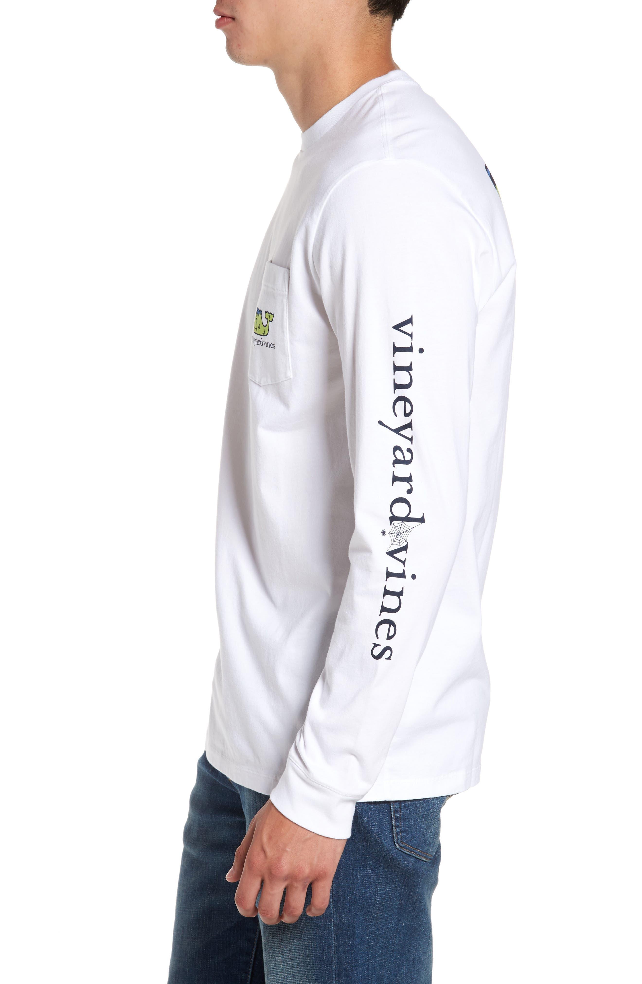 Alternate Image 3  - vineyard vines Frankenstein Whale Graphic Long Sleeve T-Shirt