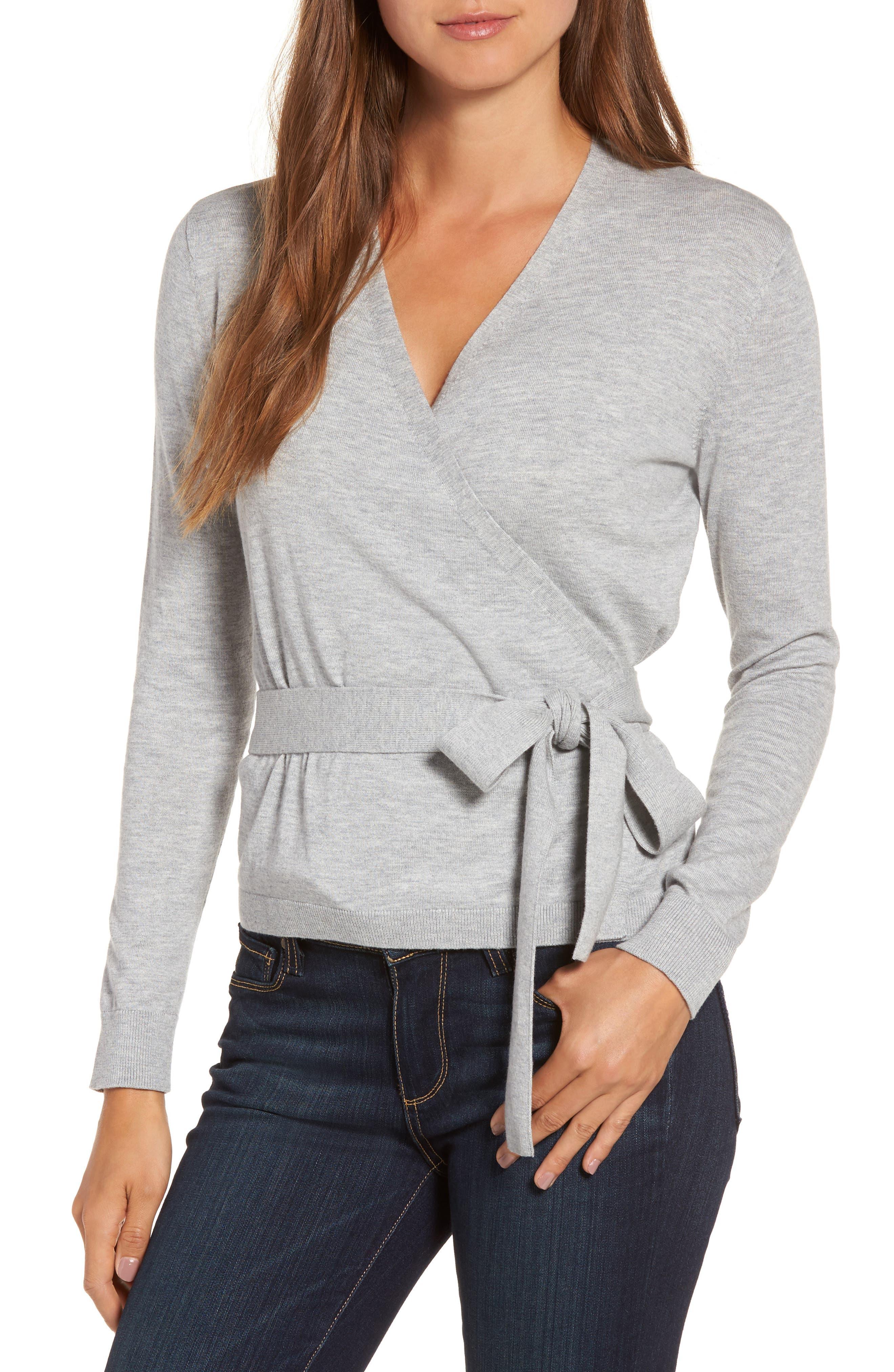 Chelsea28 Ballet Wrap Sweater