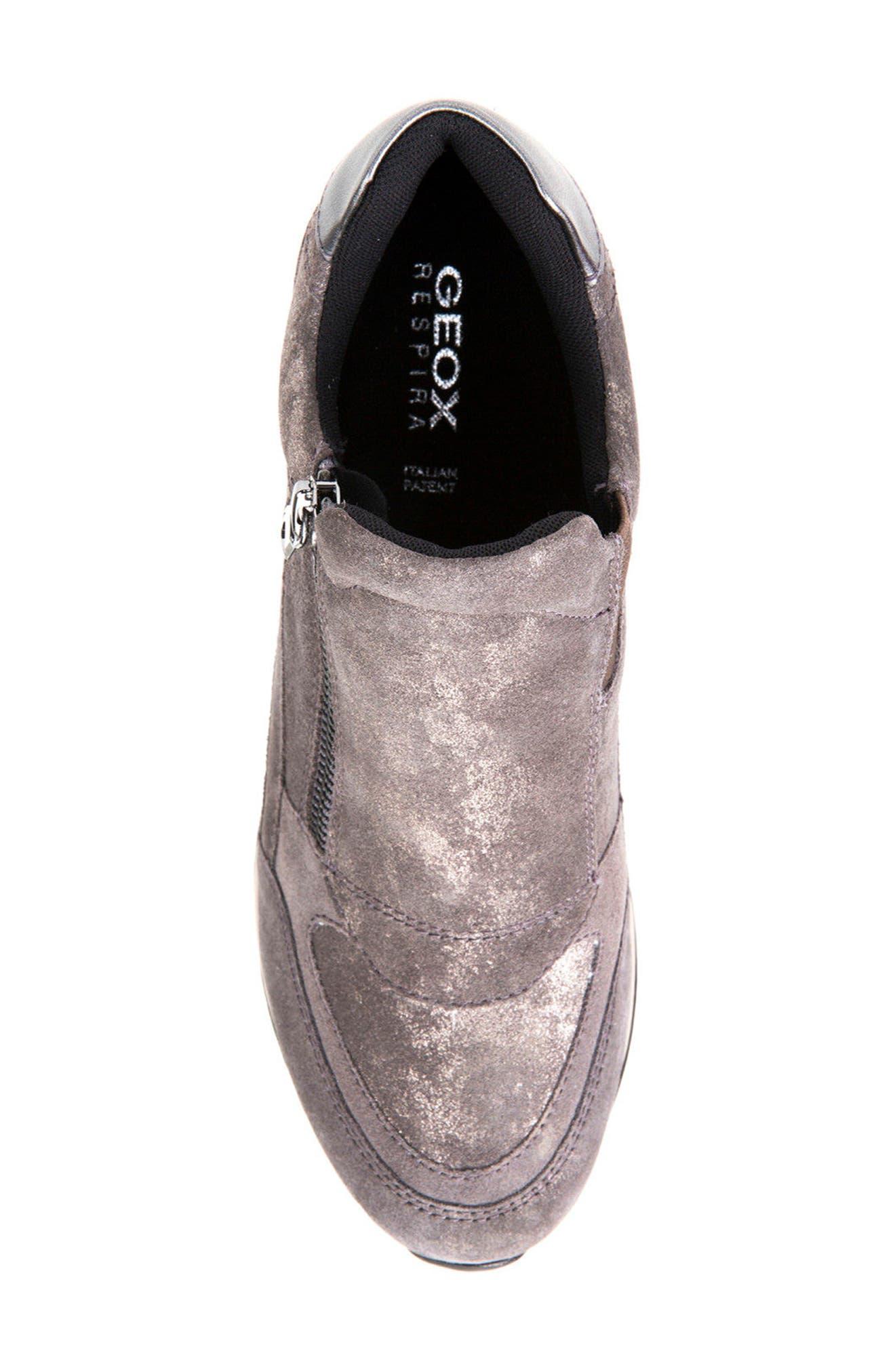 Alternate Image 5  - Geox Nydame Wedge Sneaker (Women)