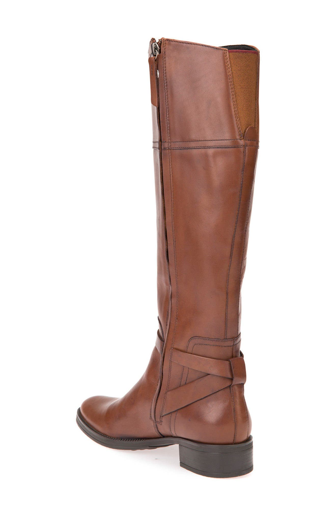 Mendin ABX Waterproof Riding Boot,                             Alternate thumbnail 2, color,                             Brown Leather