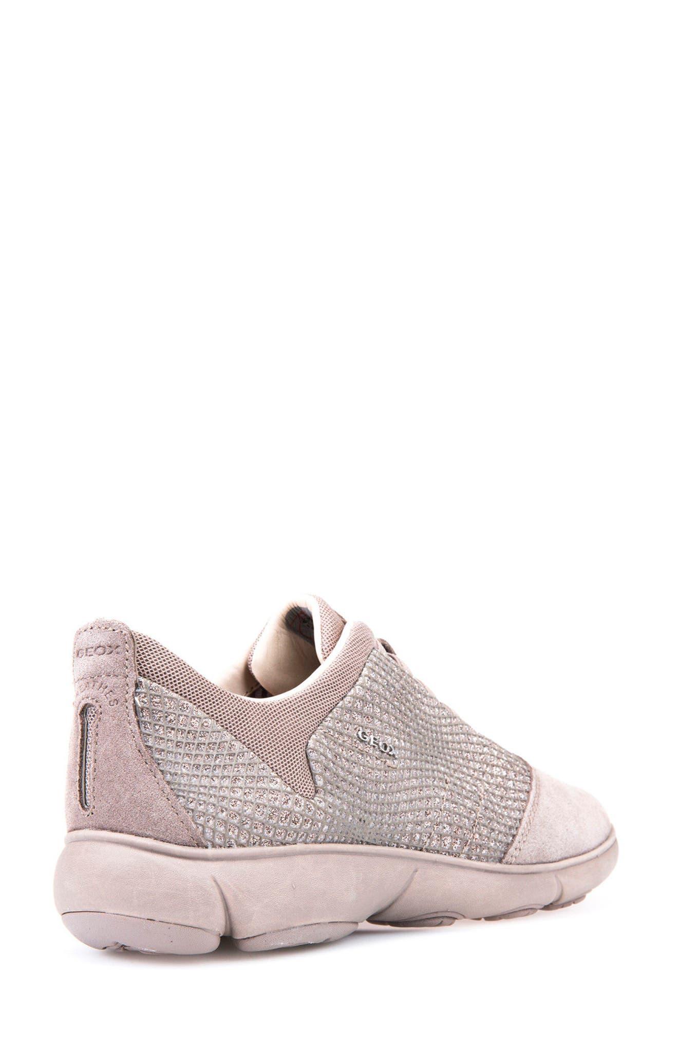 Nebula Slip-On Sneaker,                             Alternate thumbnail 4, color,                             Taupe
