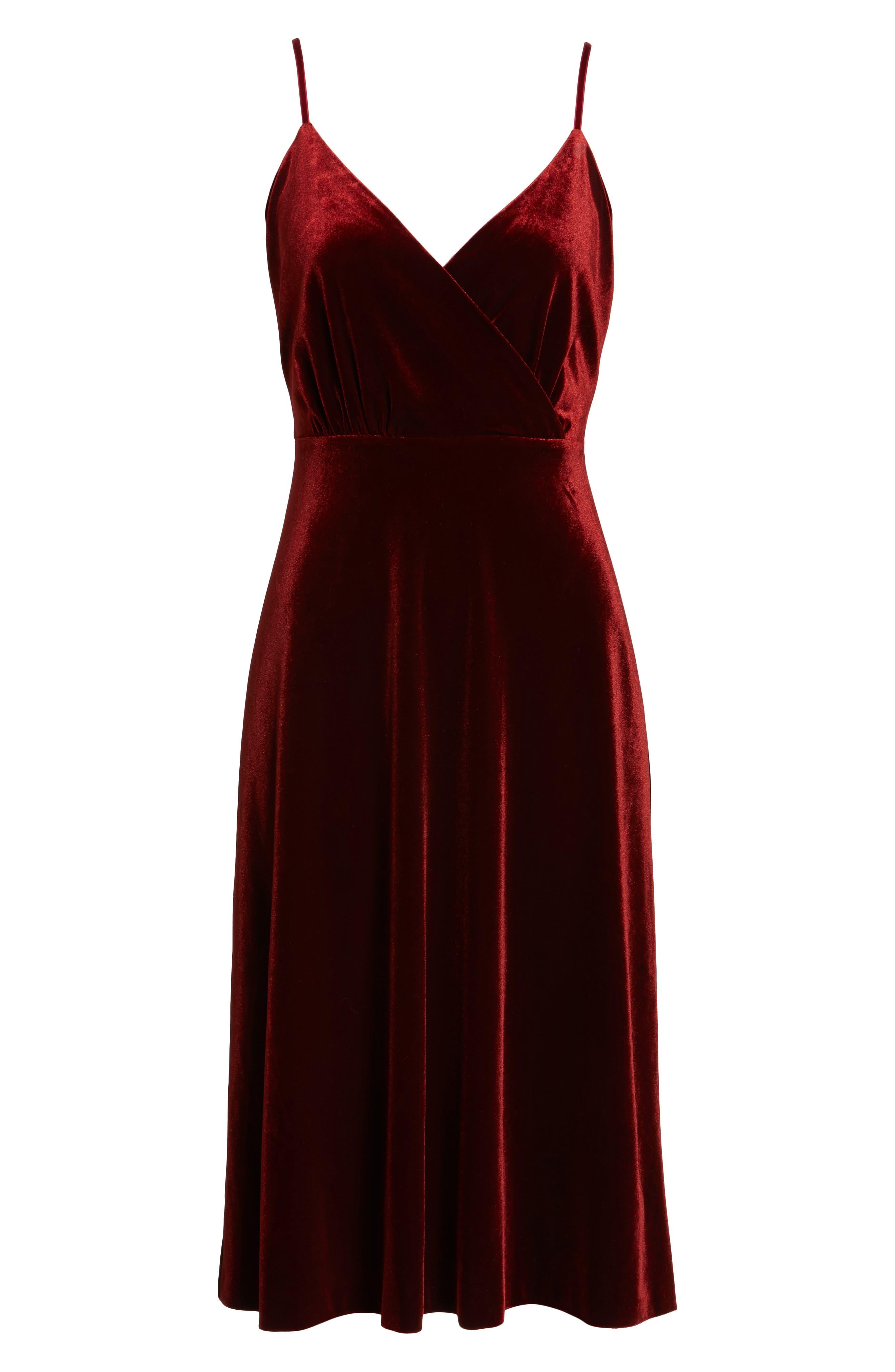 Alternate Image 7  - Ali & Jay Velvet Midi Dress