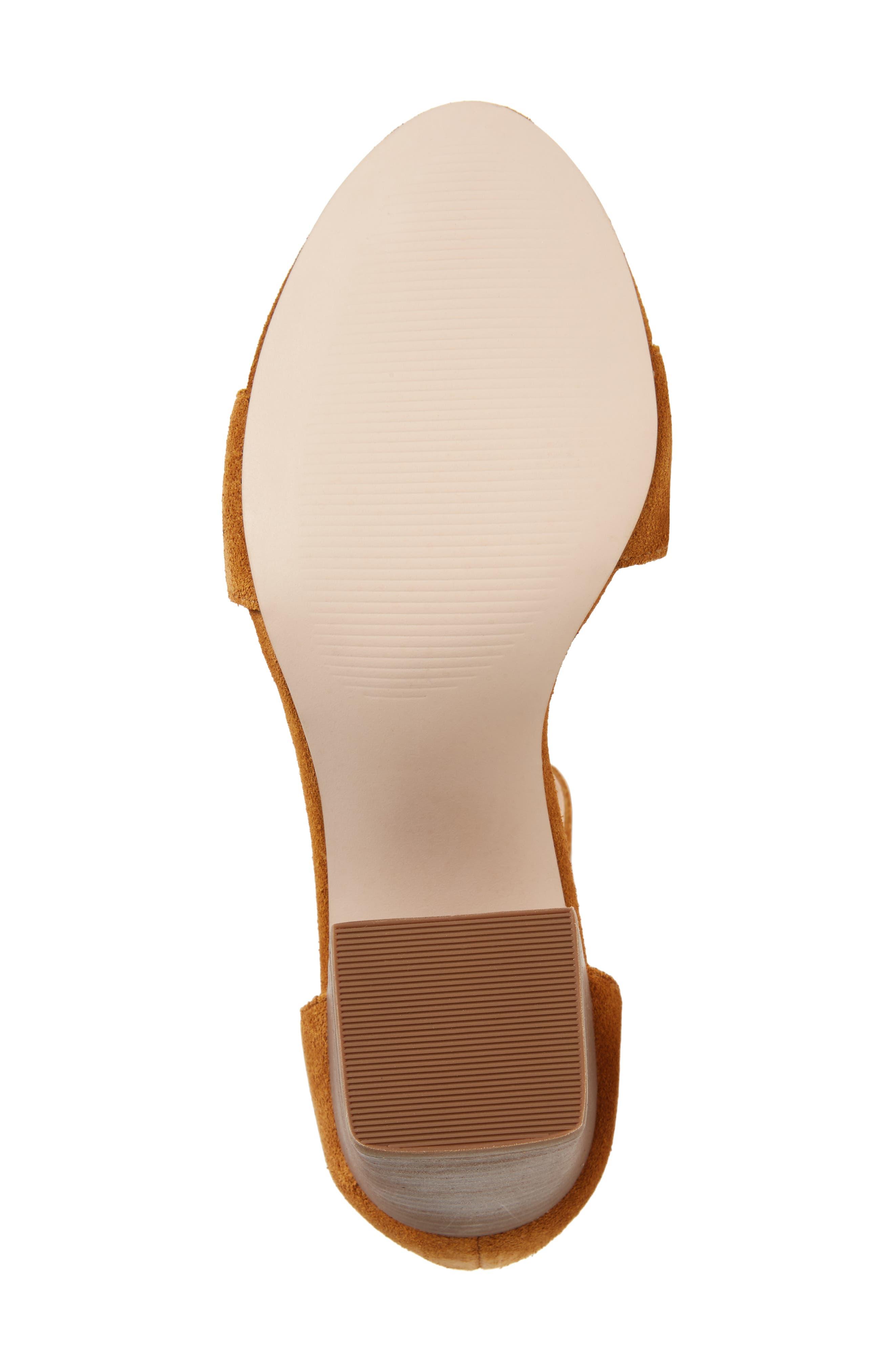 Montana Sandal,                             Alternate thumbnail 6, color,                             Camel