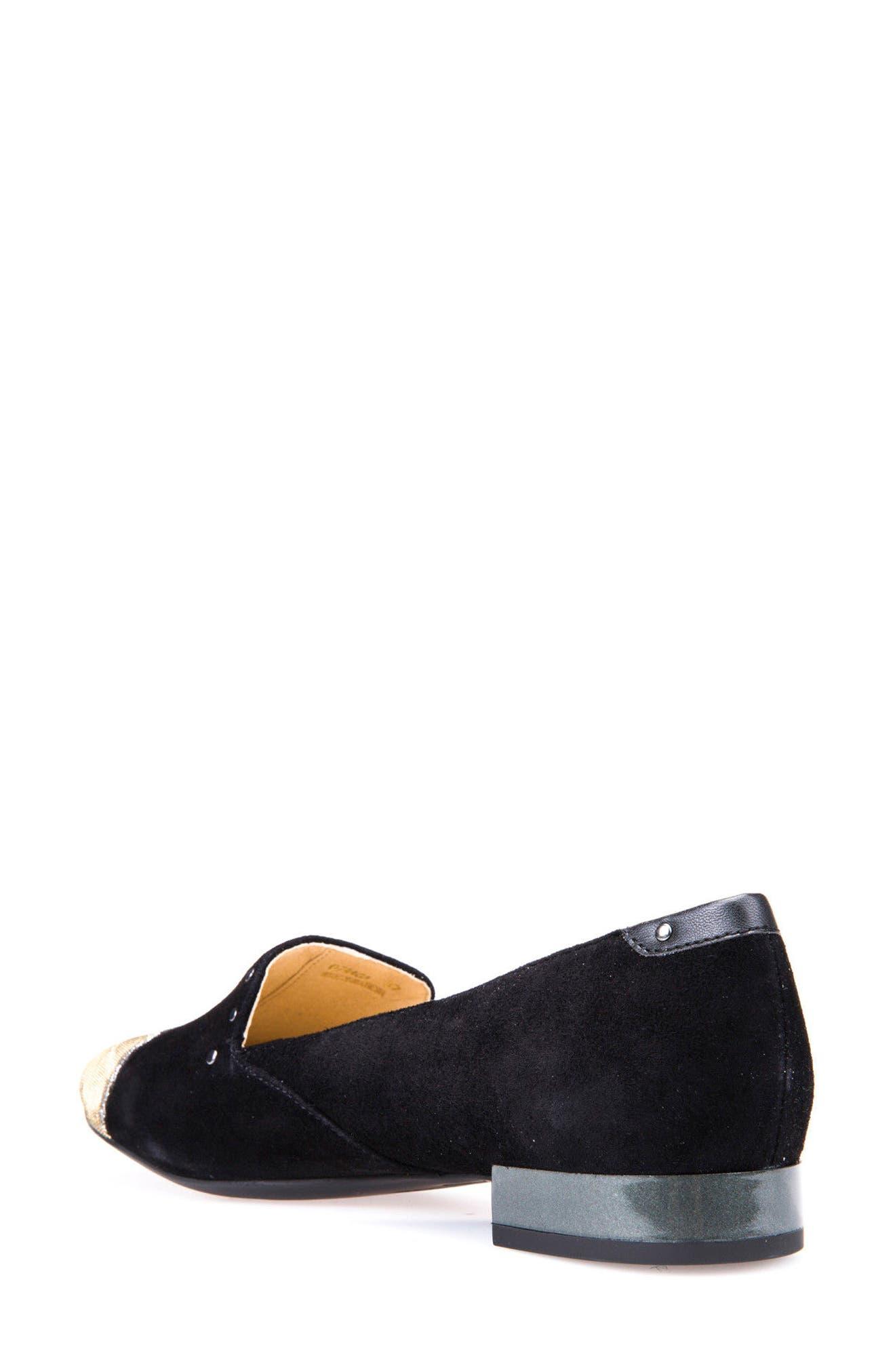 Alternate Image 2  - Geox Wistrey Cap Toe Loafer (Women)