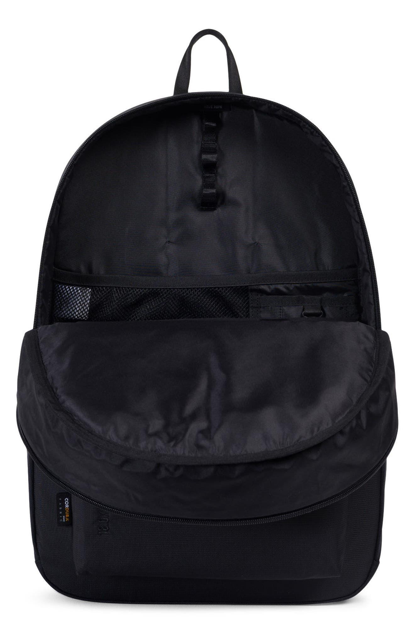 Rundle Trail Backpack,                             Alternate thumbnail 3, color,                             Black