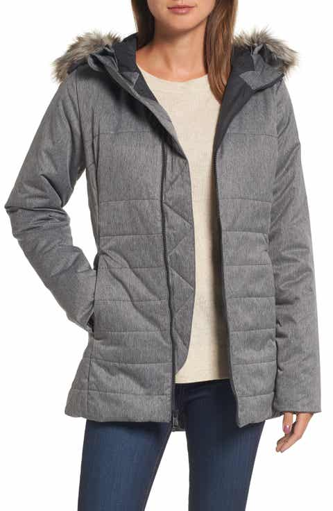 Women's Grey Coats & Jackets: Puffer & Down | Nordstrom