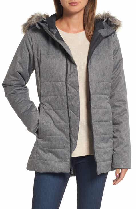 dd8e998cf1 The North Face Harway Heatseeker™ Water-Resistant Jacket with Faux Fur Trim