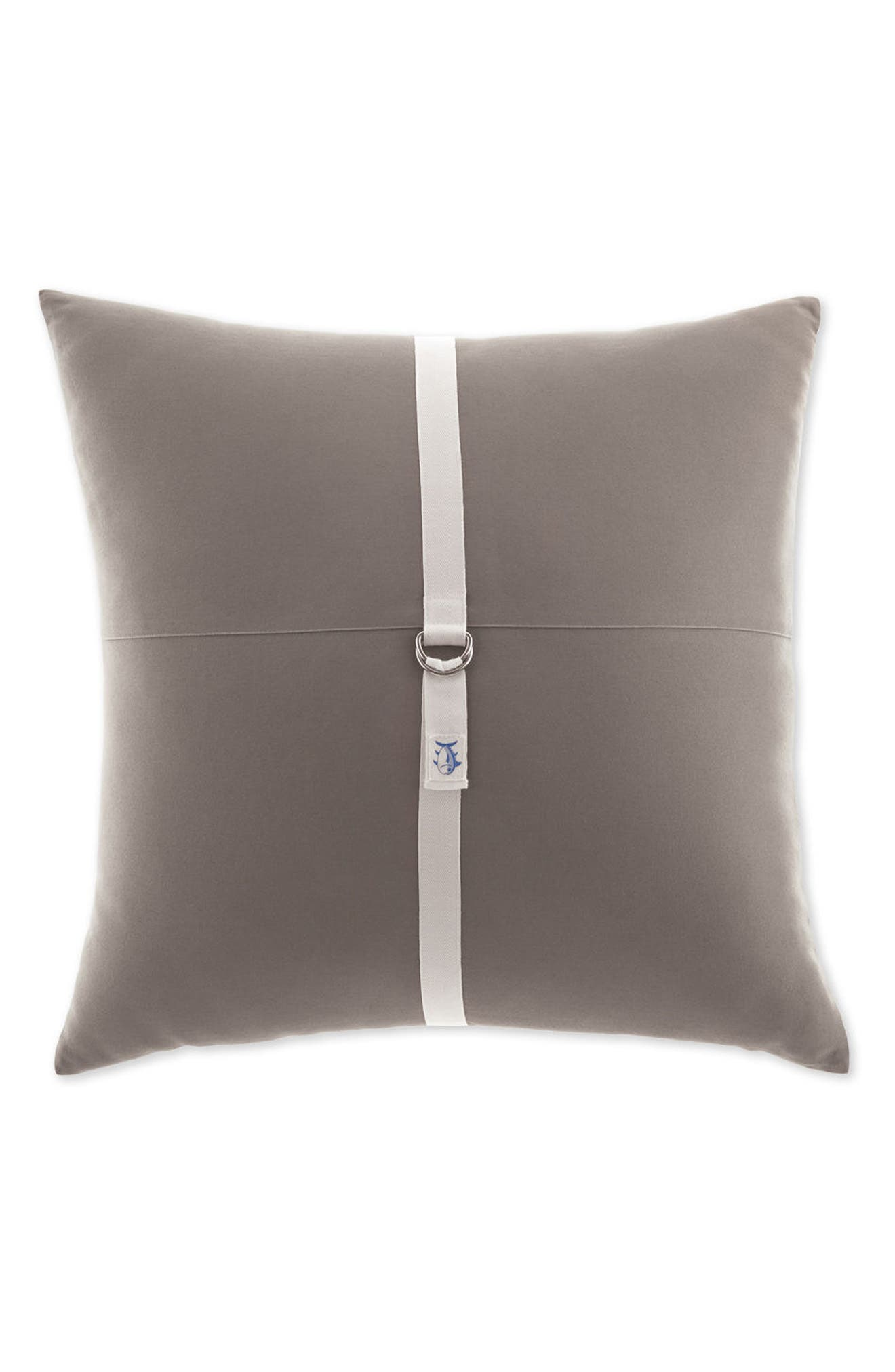 Starboard Nautical Accent Pillow,                         Main,                         color, Gray