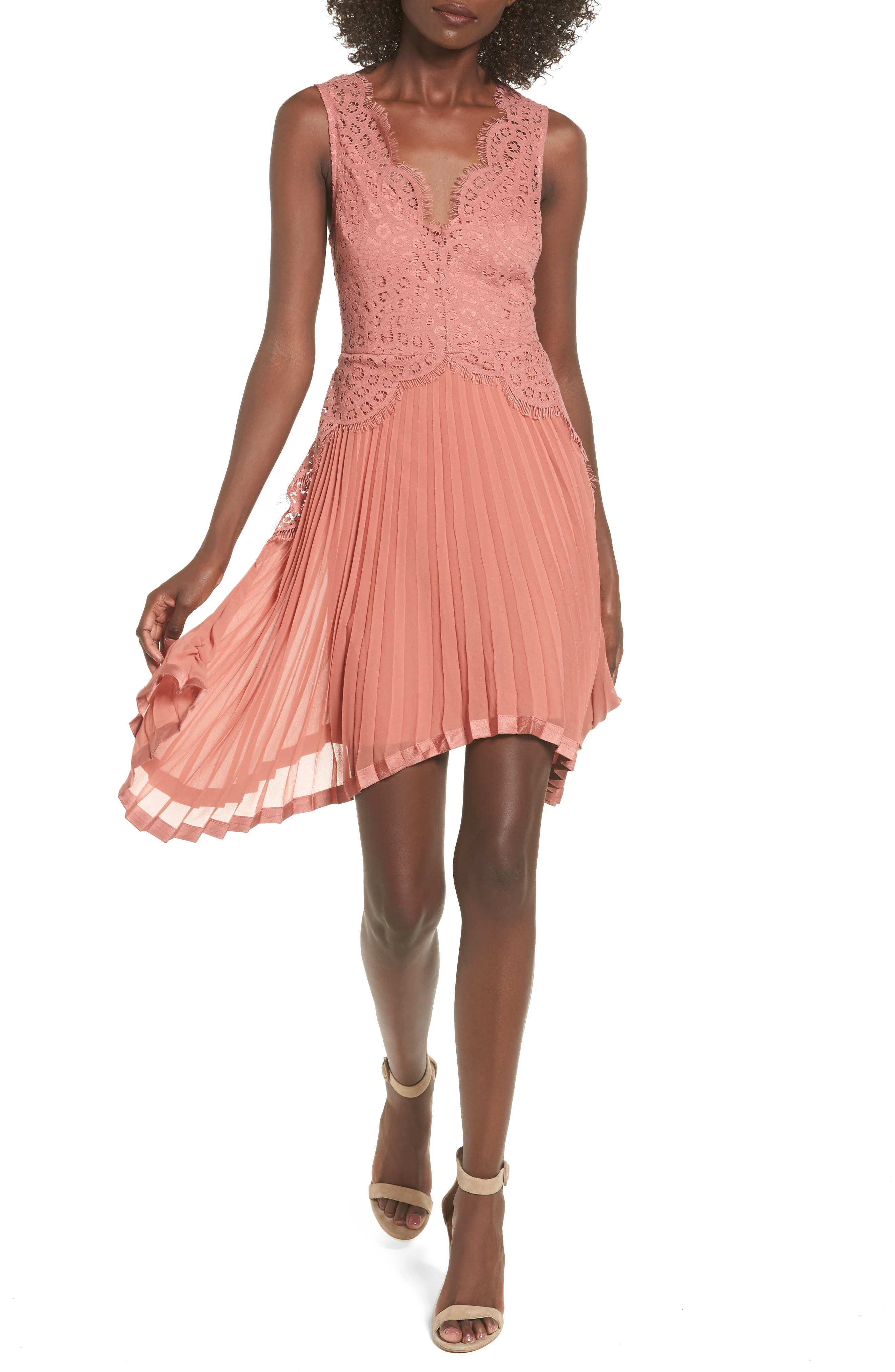 Keepsake the Label Be the One Sleeveless Dress