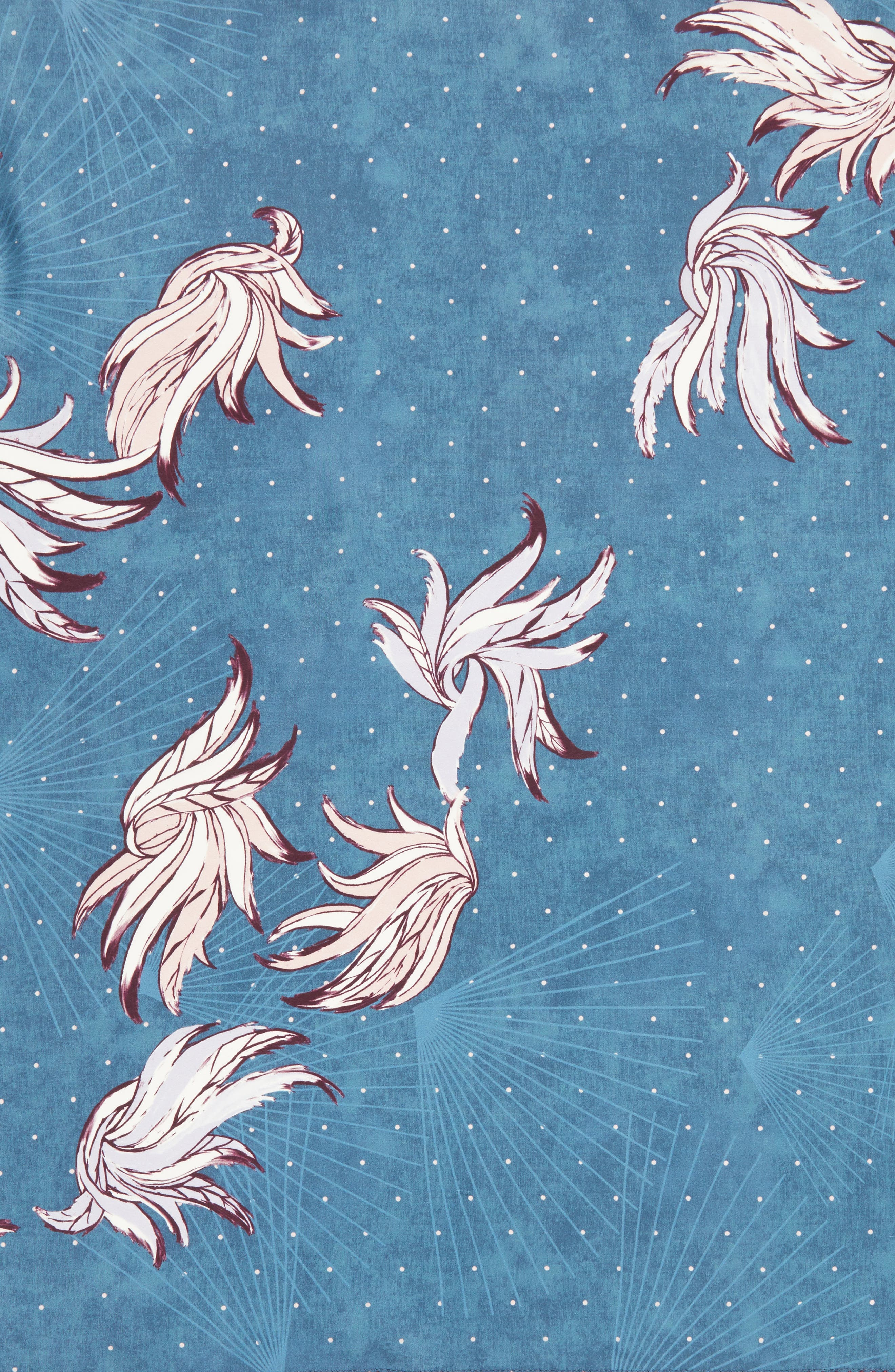 Alternate Image 4  - Treasure & Bond Disco Wings Silk Scarf