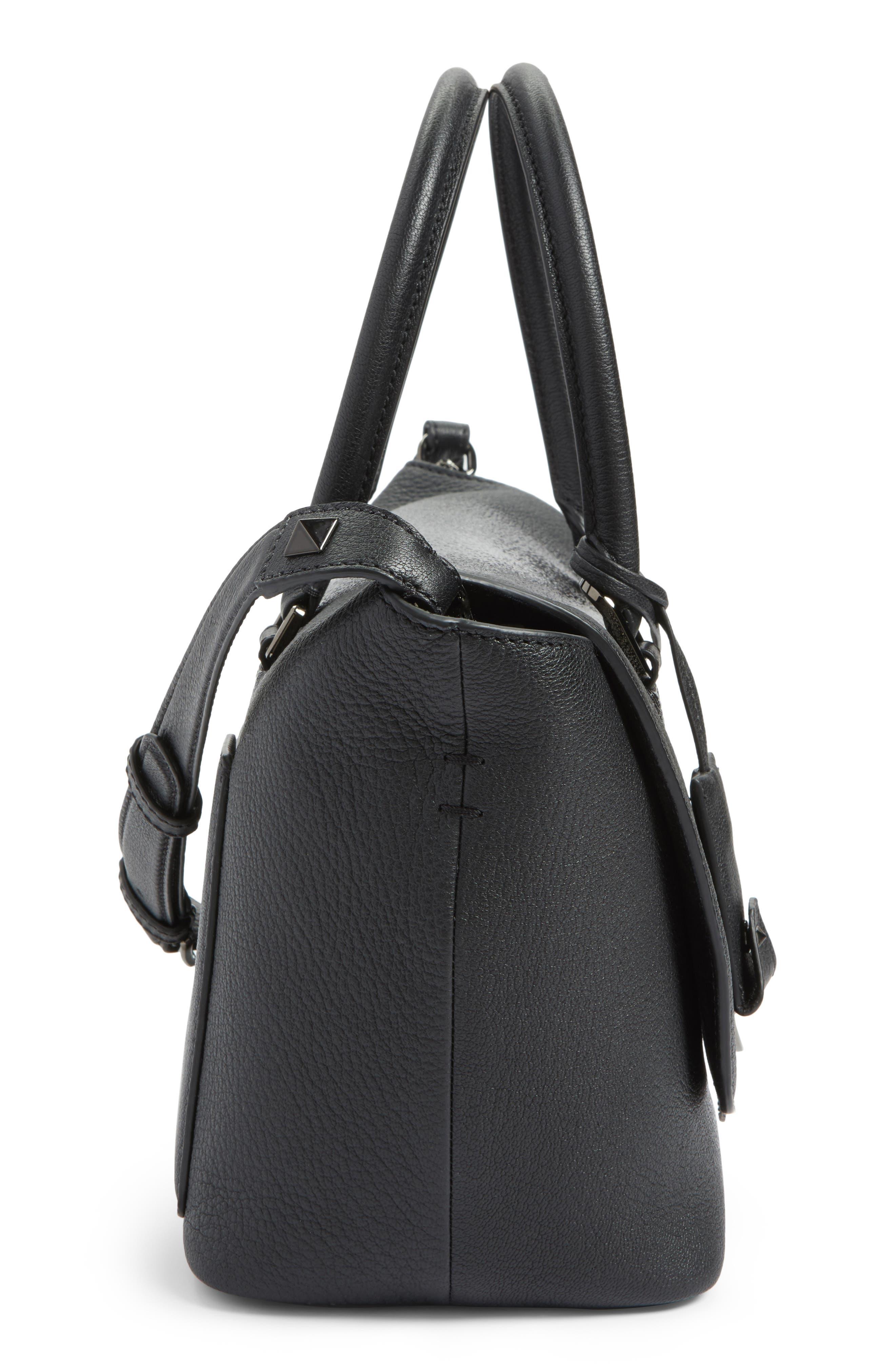 Alternate Image 4  - VALENTINO GARAVANI Demilune Top Handle Leather Satchel