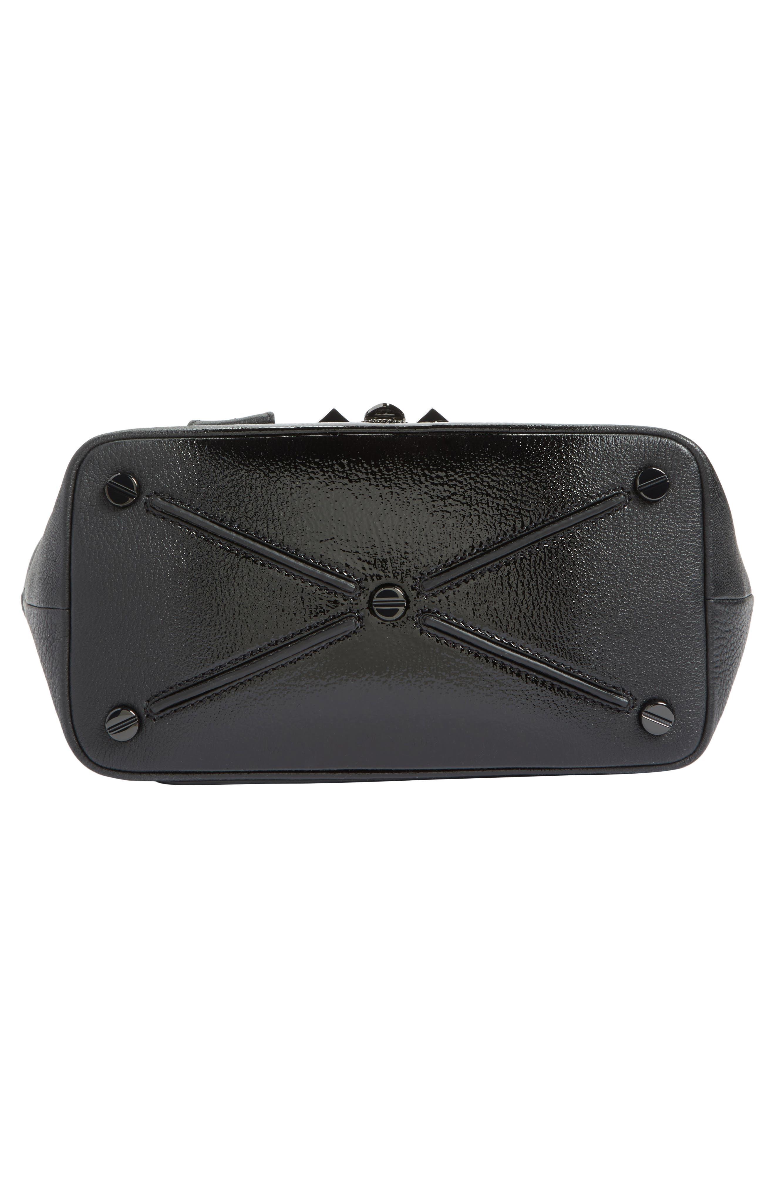 Alternate Image 5  - VALENTINO GARAVANI Demilune Top Handle Leather Satchel