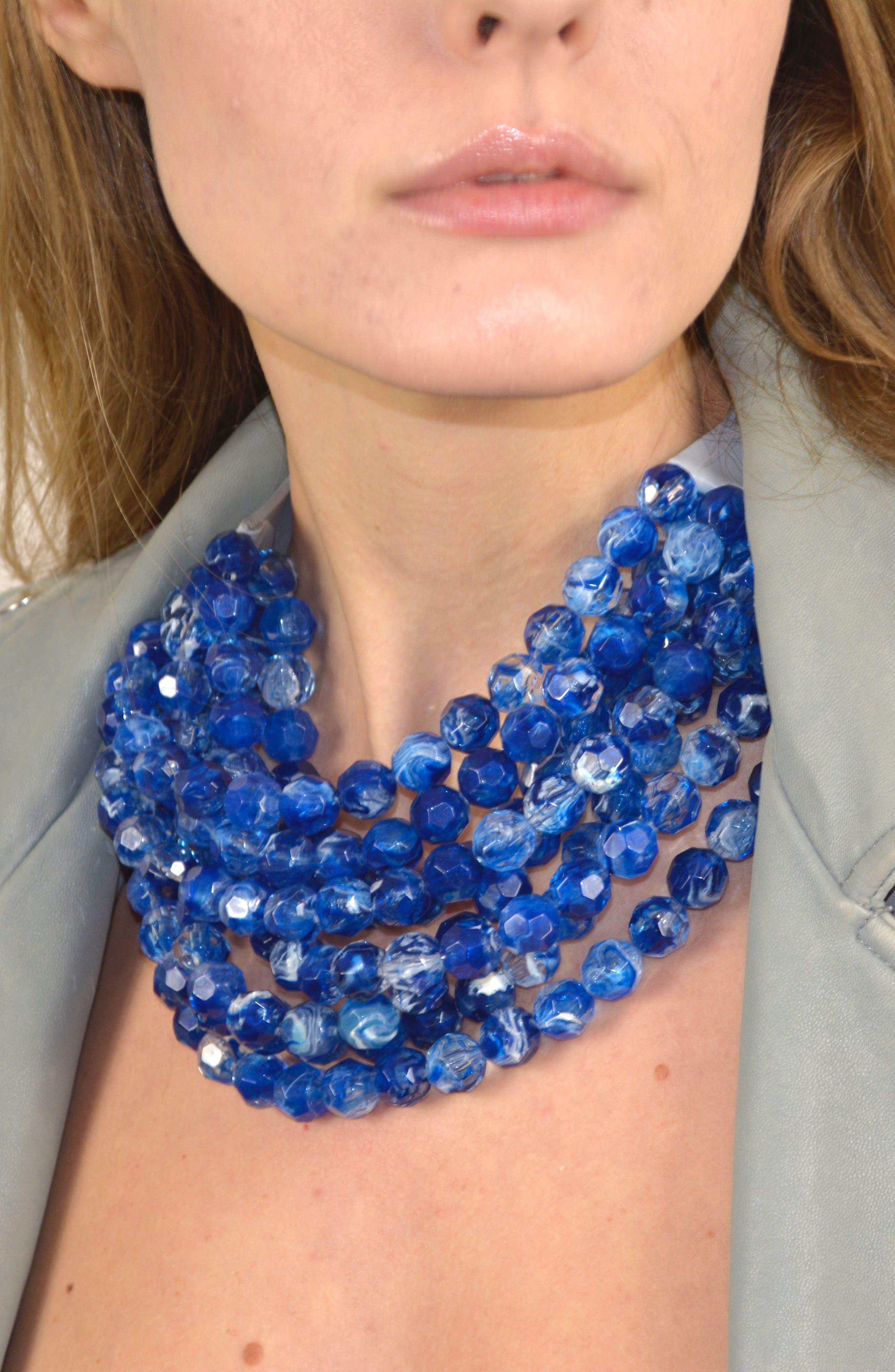 Alternate Image 5  - Fairchild Baldwin Bella Beaded Collar Necklace