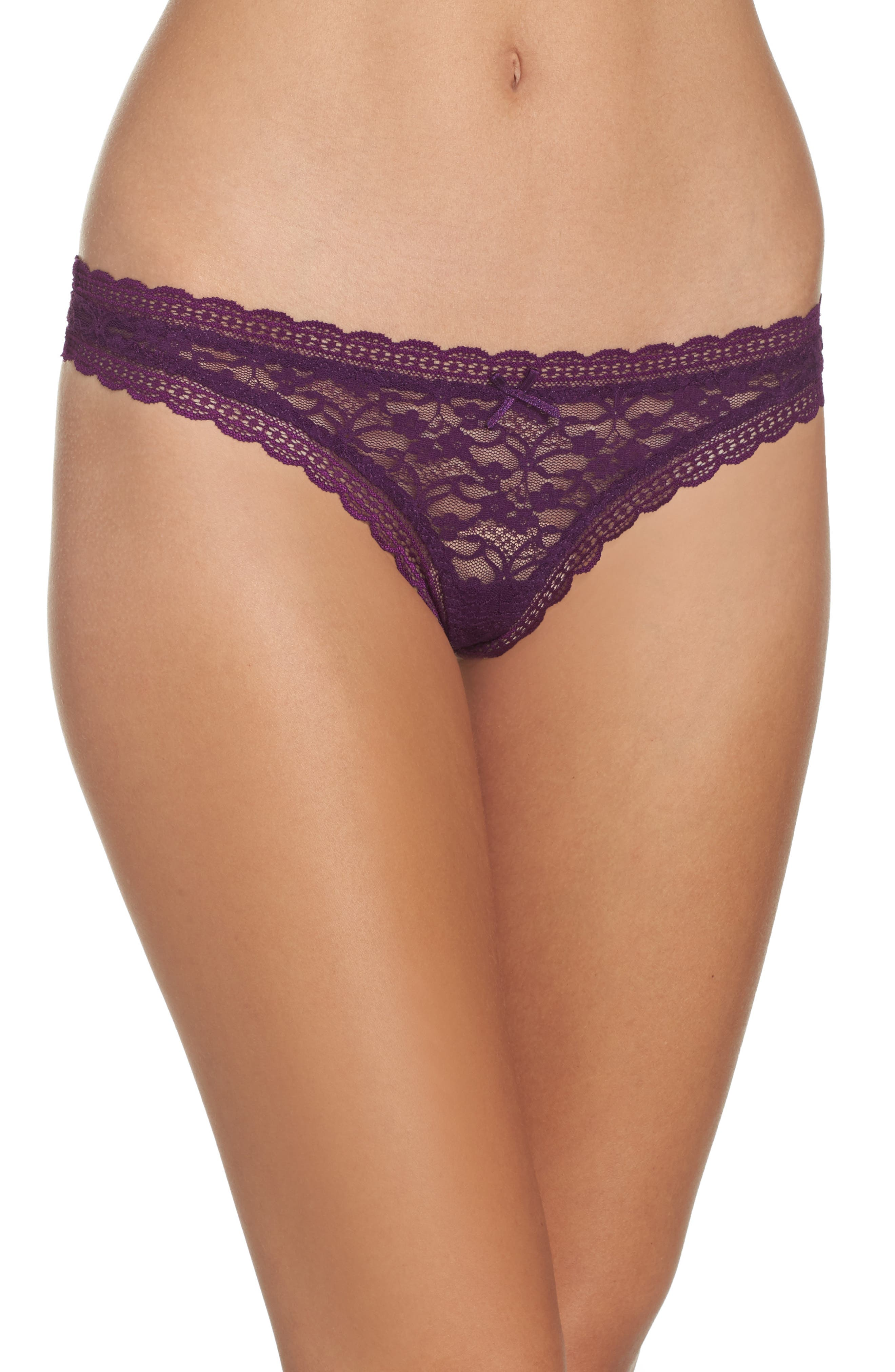 Free People Intimately FP Lace Thong (3 for $33)