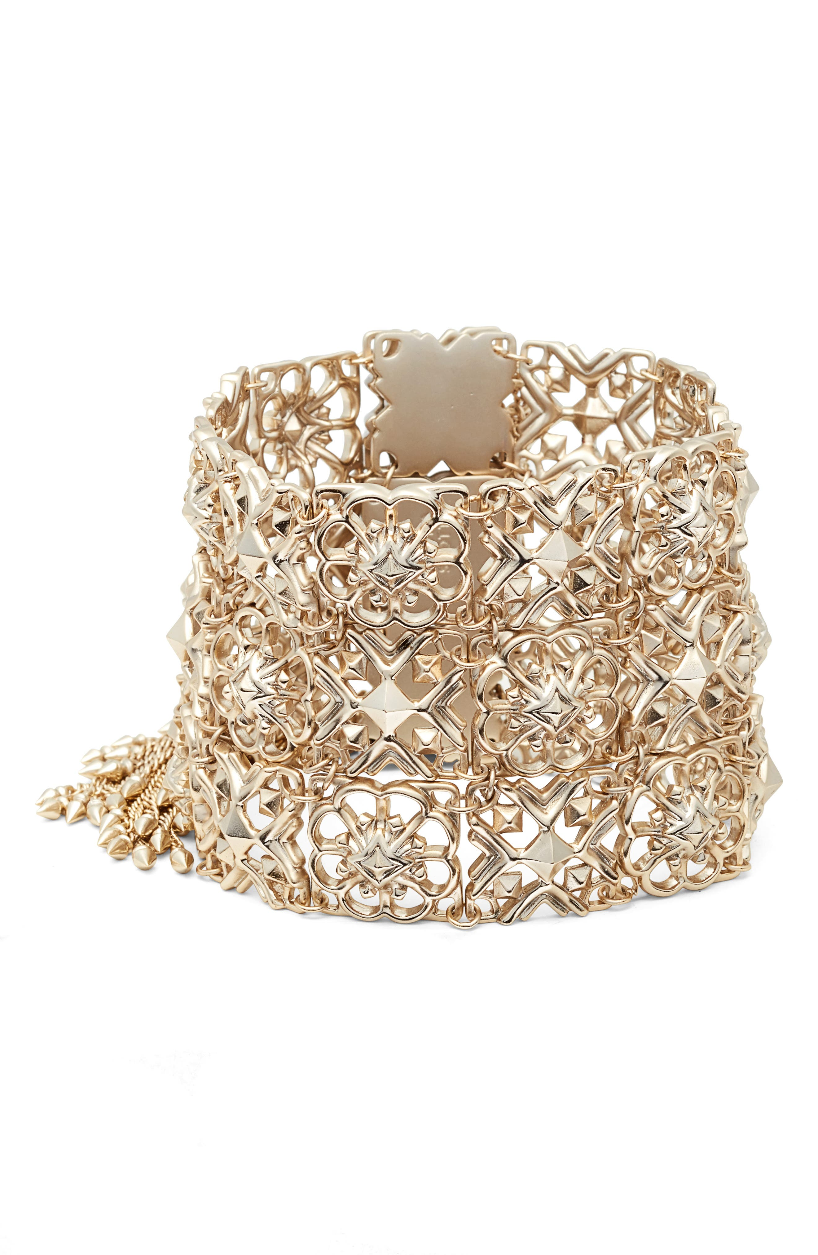 Alternate Image 1 Selected - Kendra Scott Iris Wide Bracelet