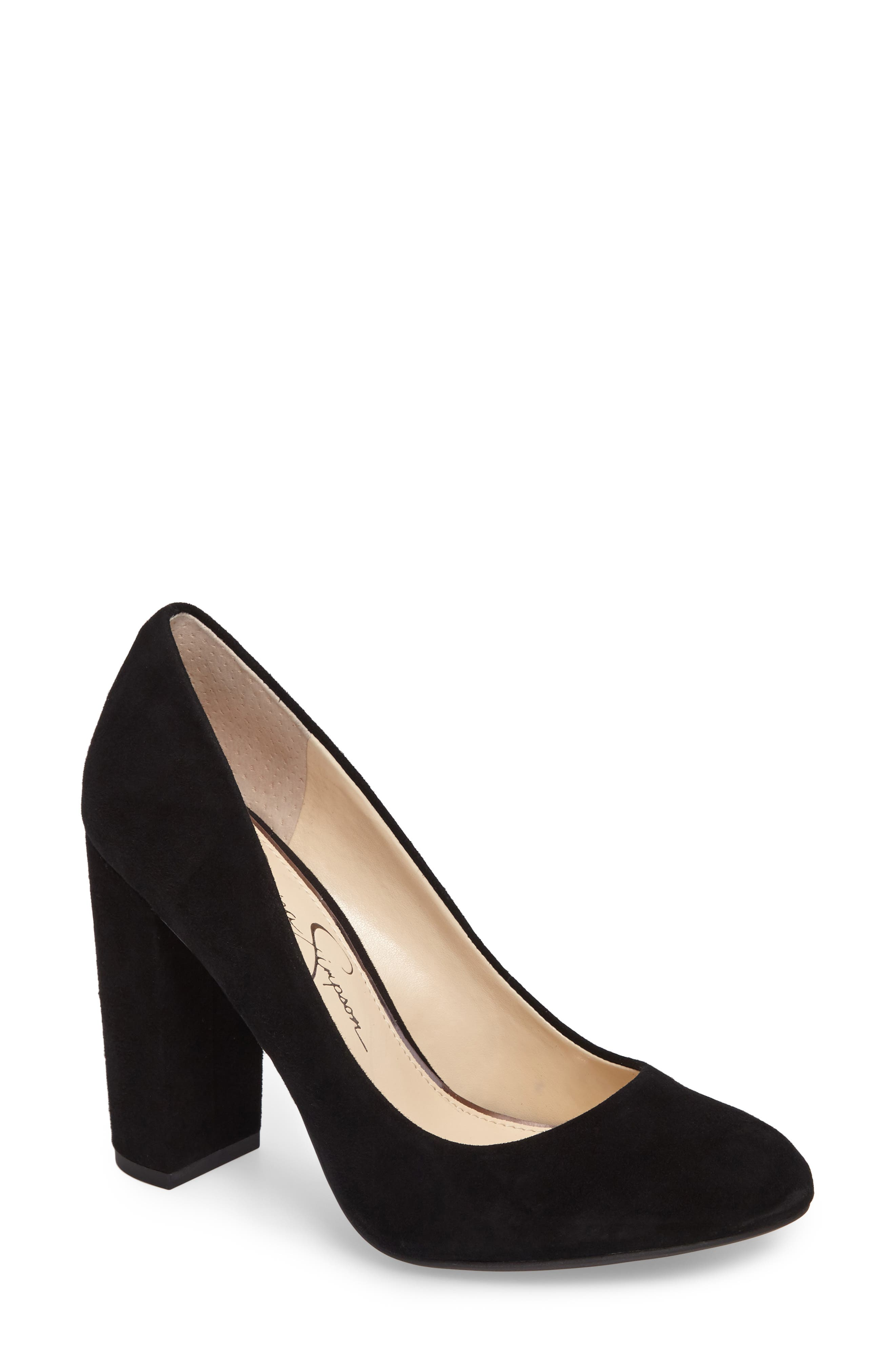 Alternate Image 1 Selected - Jessica Simpson Belemo Pump (Women)