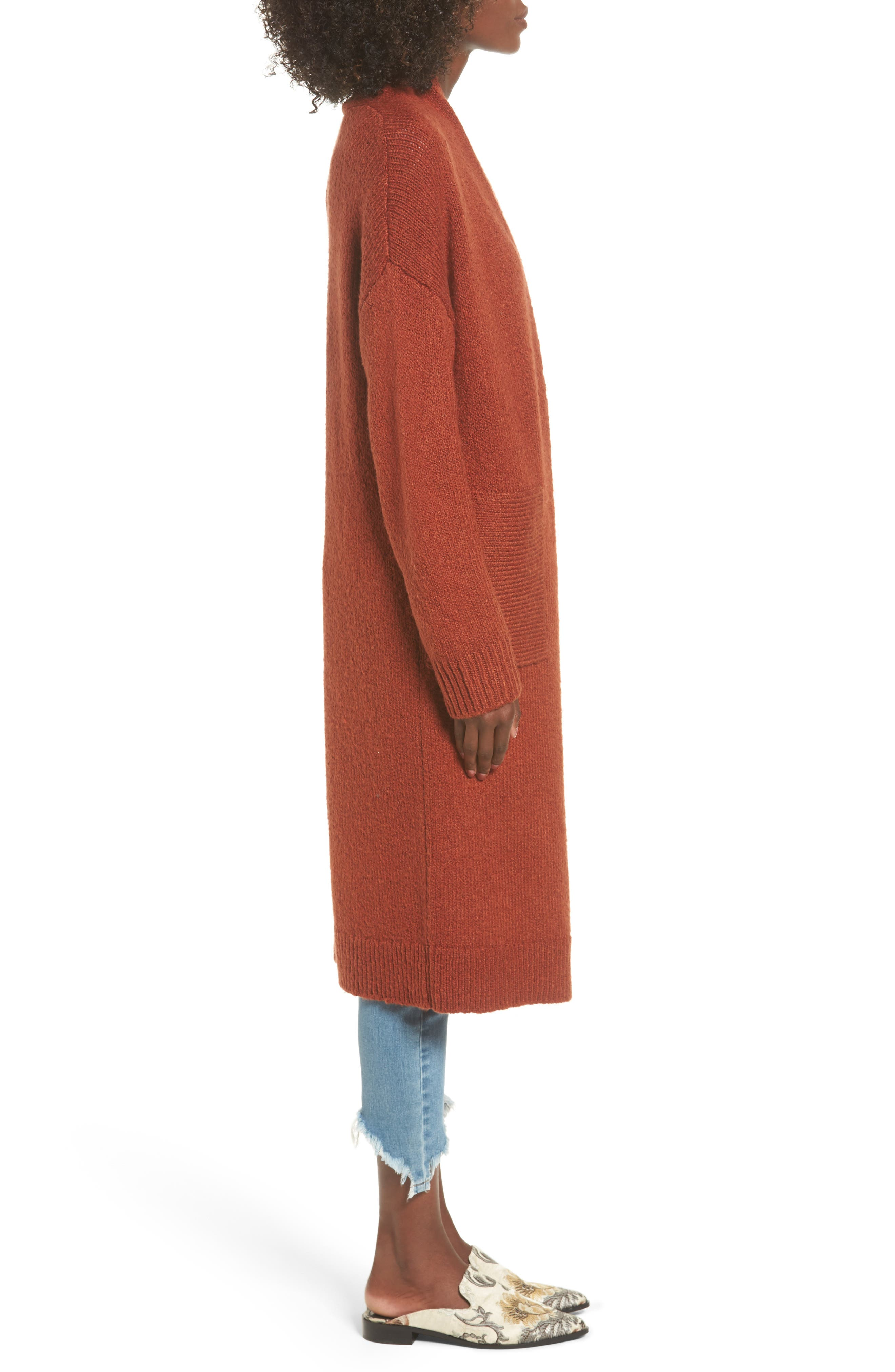 Alternate Image 3  - Leith Longline Cardigan