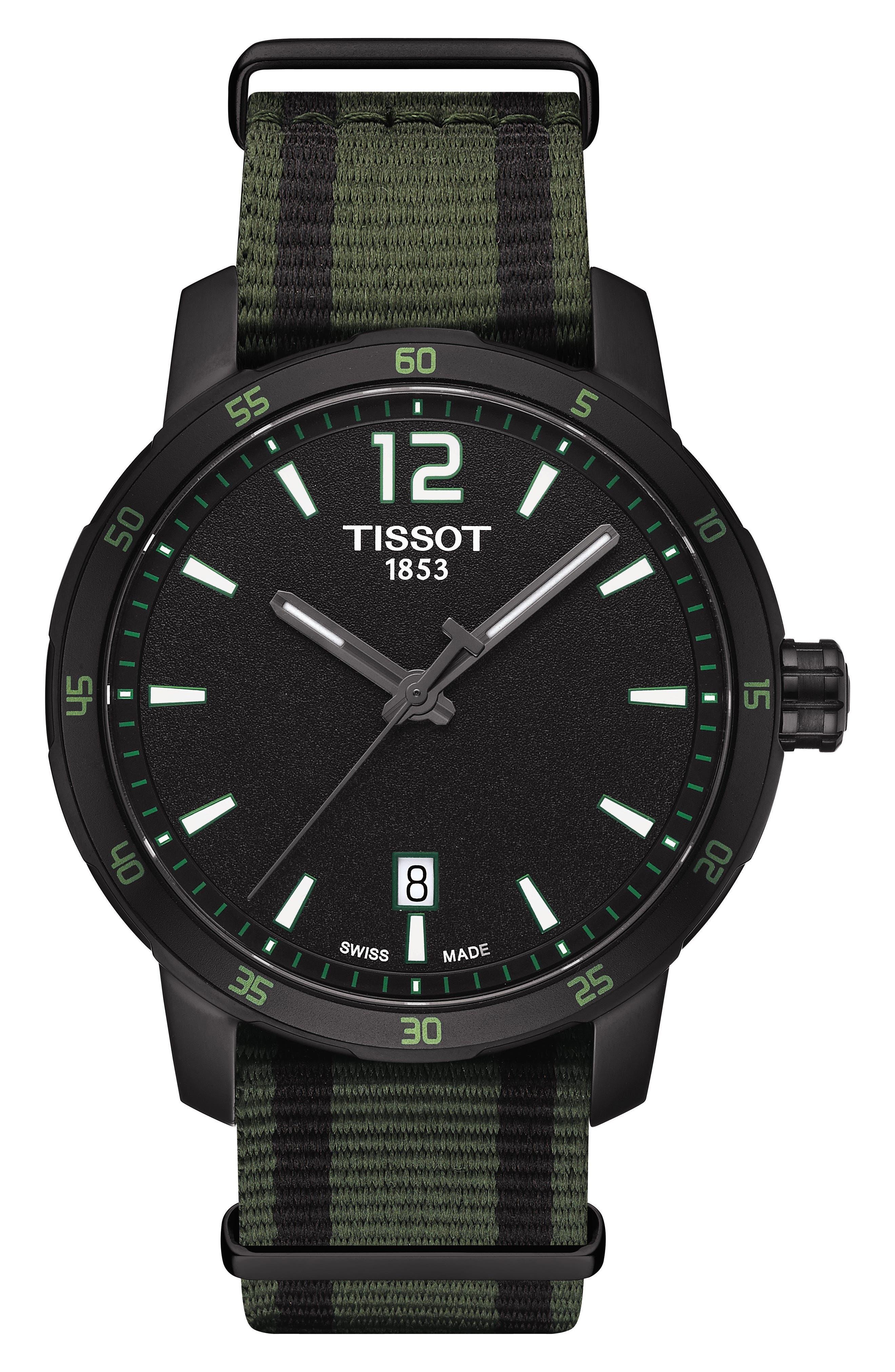 Tissot Quickster NATO Strap Watch, 40mm