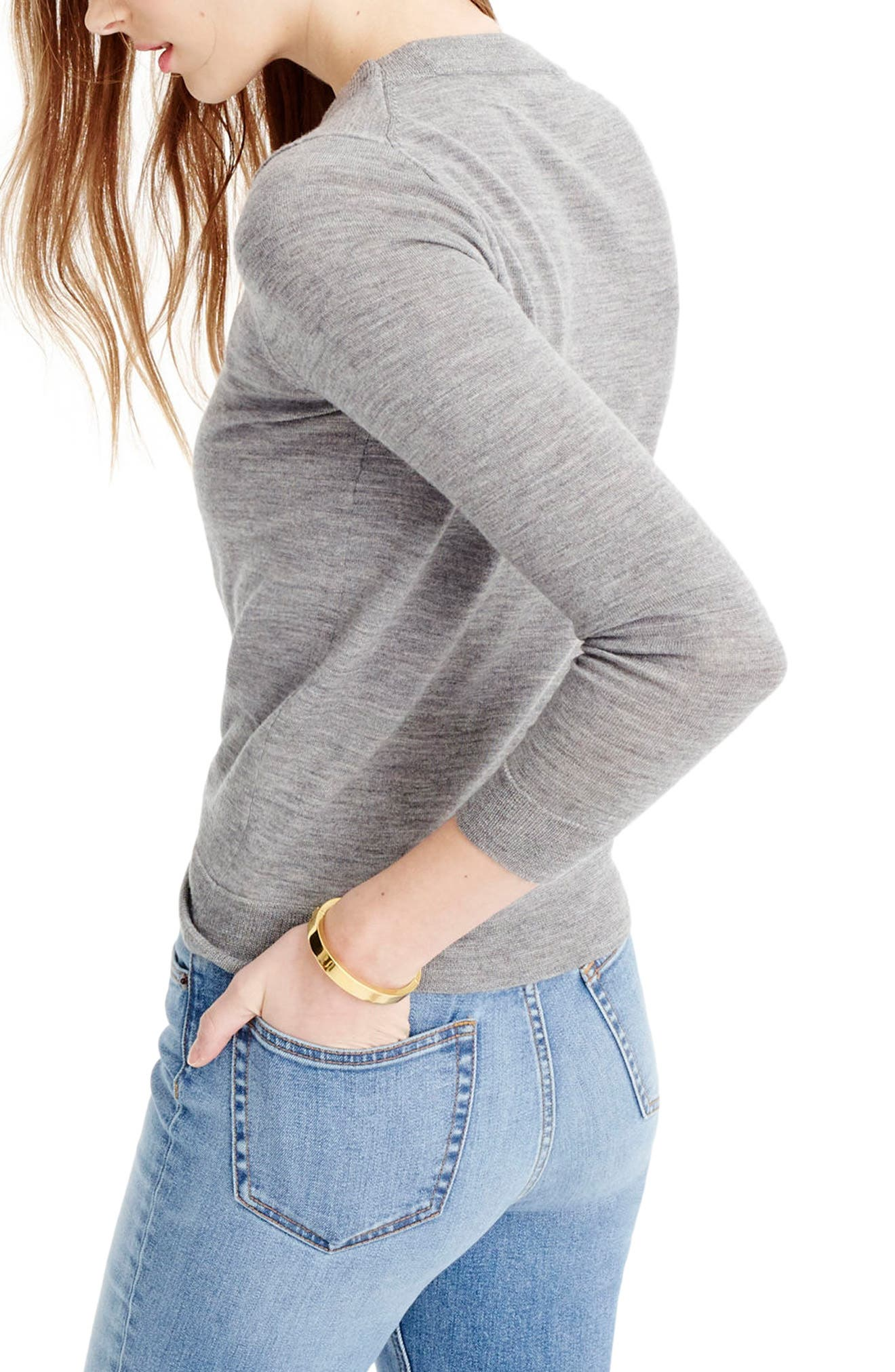 Alternate Image 2  - J.Crew Tippi Merino Wool Sweater