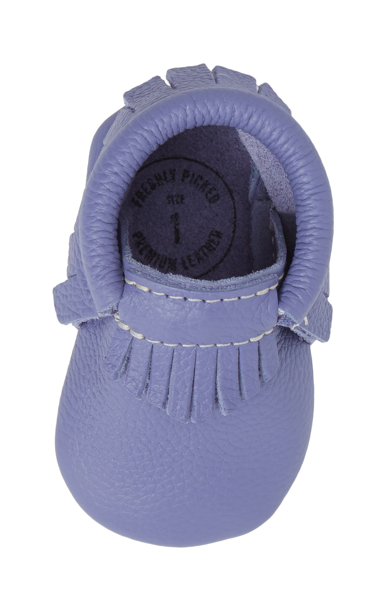 Classic Moccasin,                             Alternate thumbnail 5, color,                             Lilac