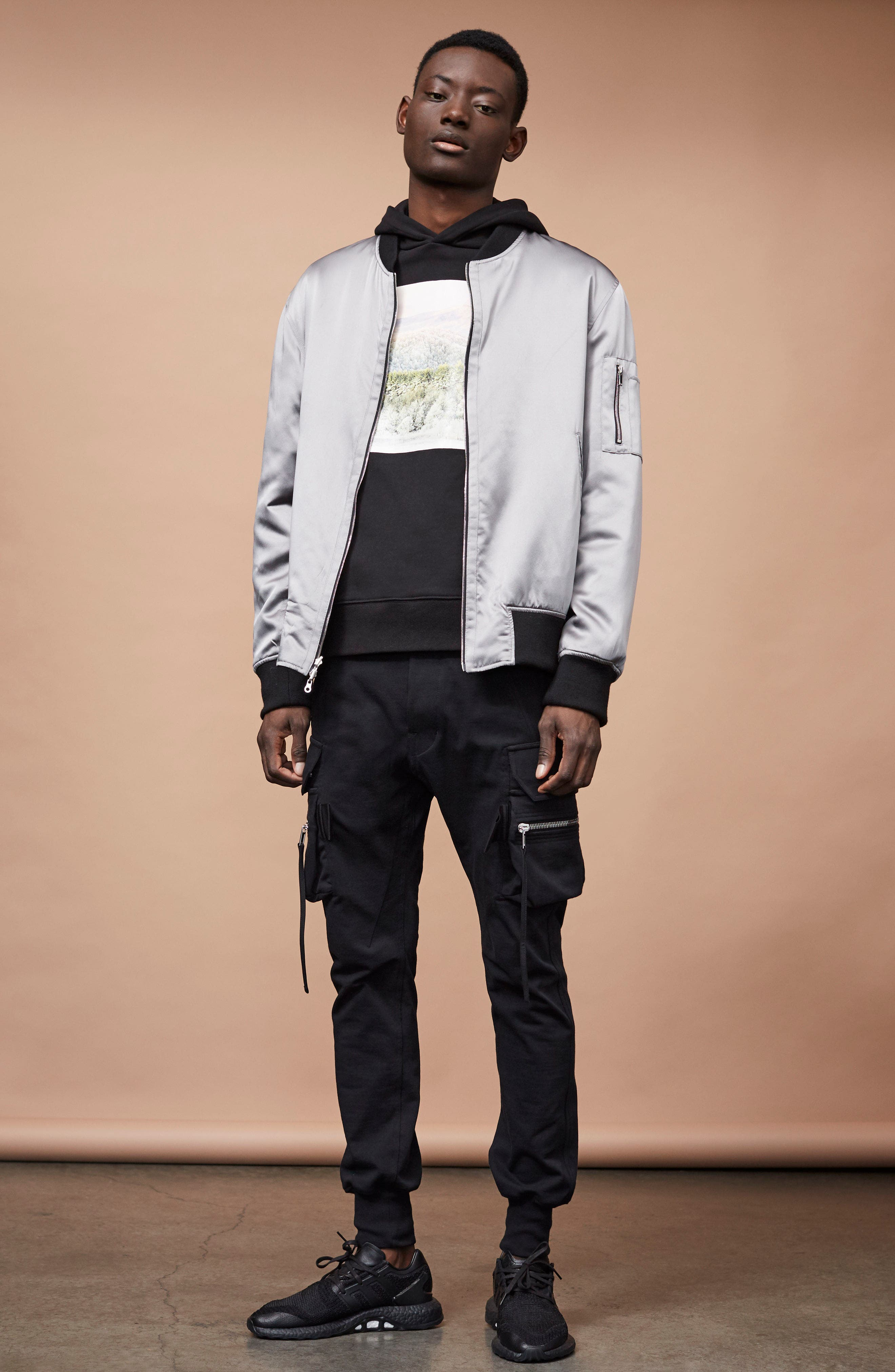 Alternate Image 6  - OVADIA & SONS Appalachian Winter Graphic Hoodie