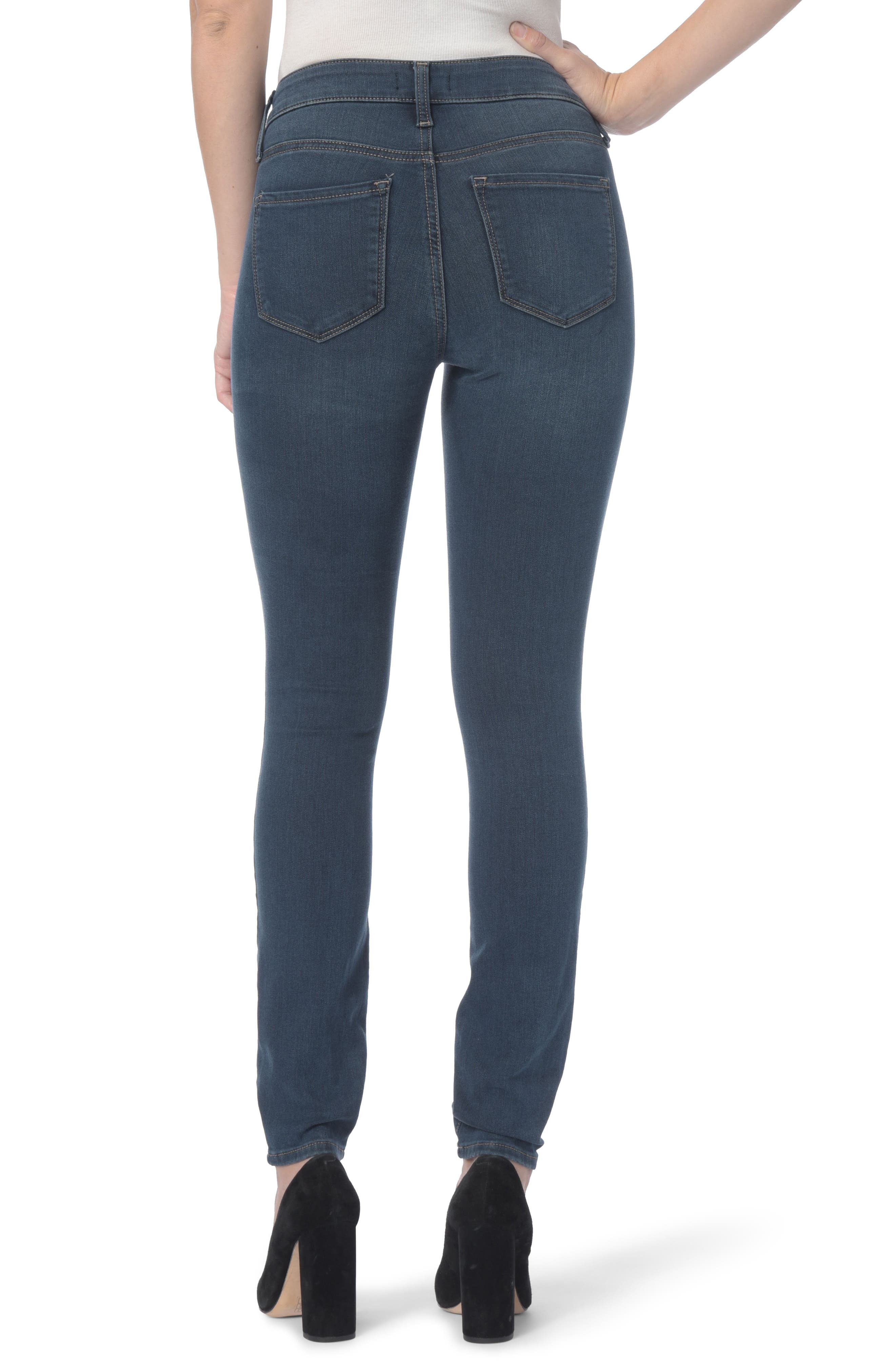 Ami Stretch Super Skinny Jeans,                             Alternate thumbnail 2, color,                             Rome