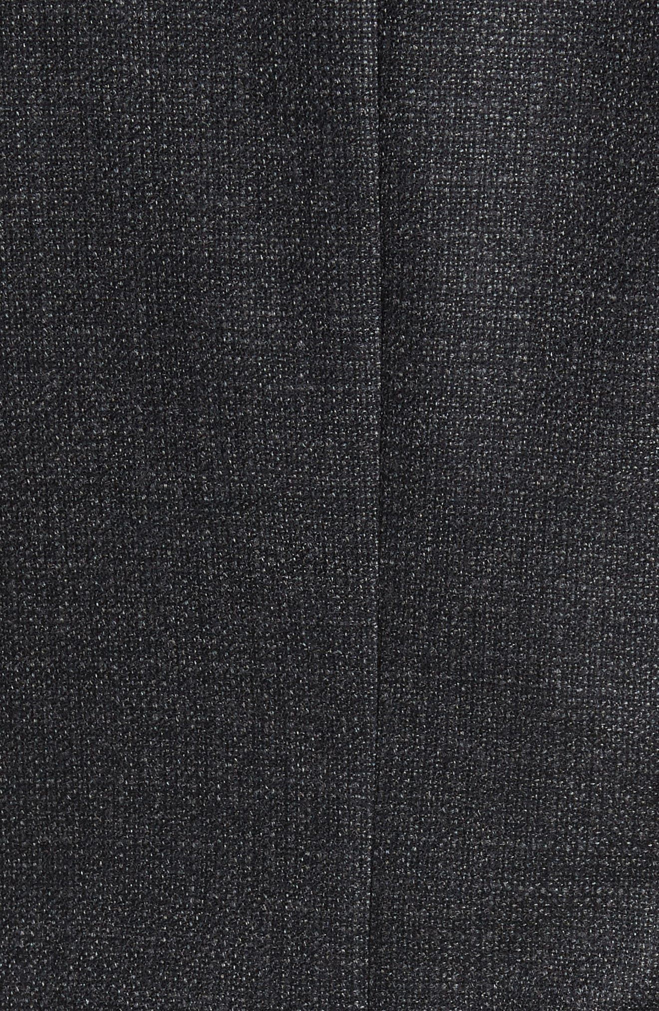 Endurance Trim Fit Wool Sport Coat,                             Alternate thumbnail 5, color,                             Grey