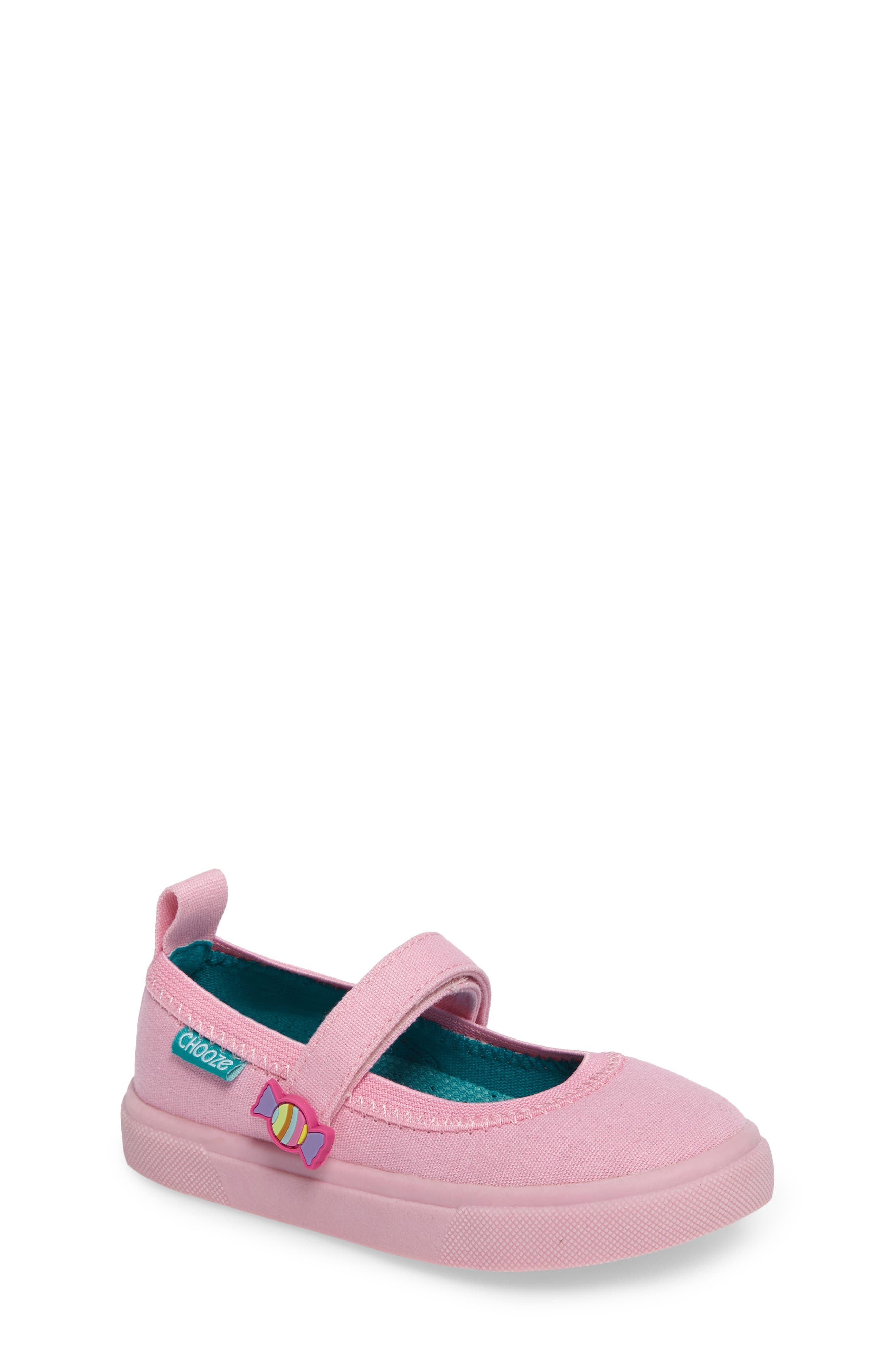 Alternate Image 1 Selected - CHOOZE Skip Mary Jane Sneaker (Toddler)