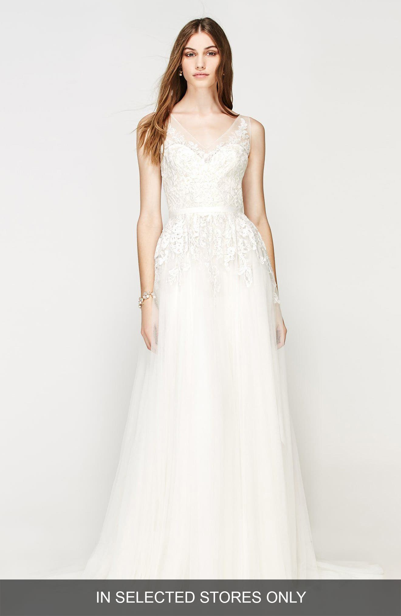 Willowby Bali Lace & Net A-Line Gown