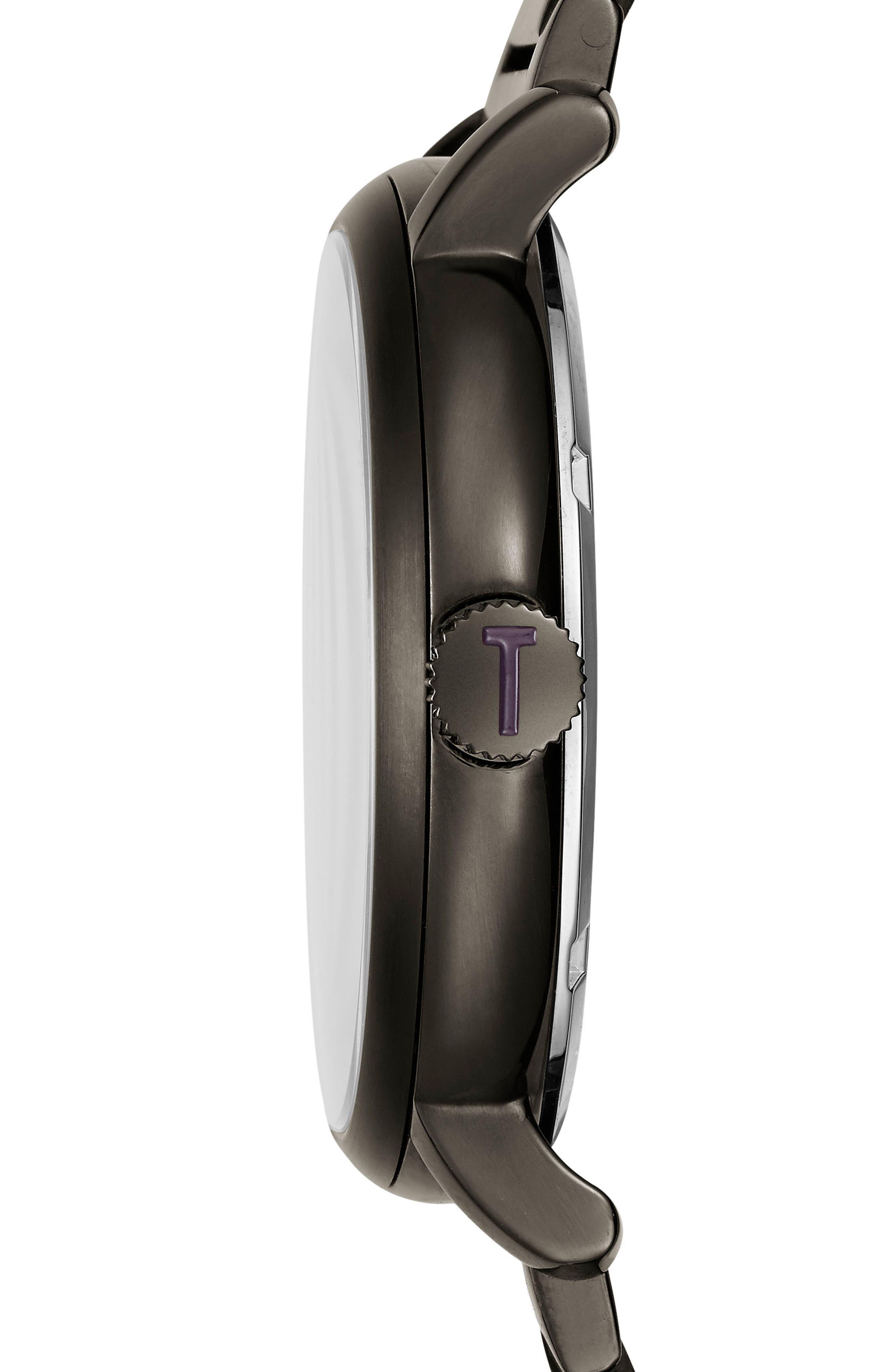 Alternate Image 3  - Ted Baker London Trent Bracelet Watch, 44mm